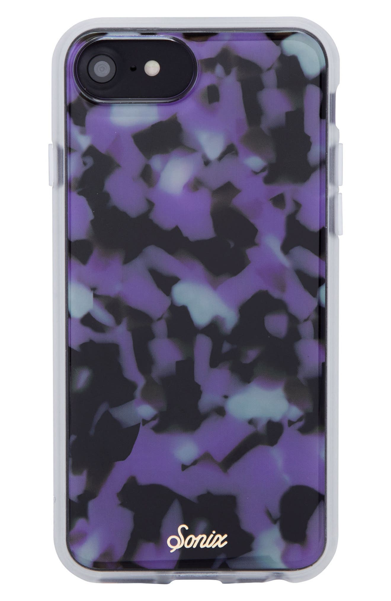 Sonic Terrazzo Lilac iPhone 6/6s/7/8 & 6/6s/7/8 Plus Case,                         Main,                         color, LILAC