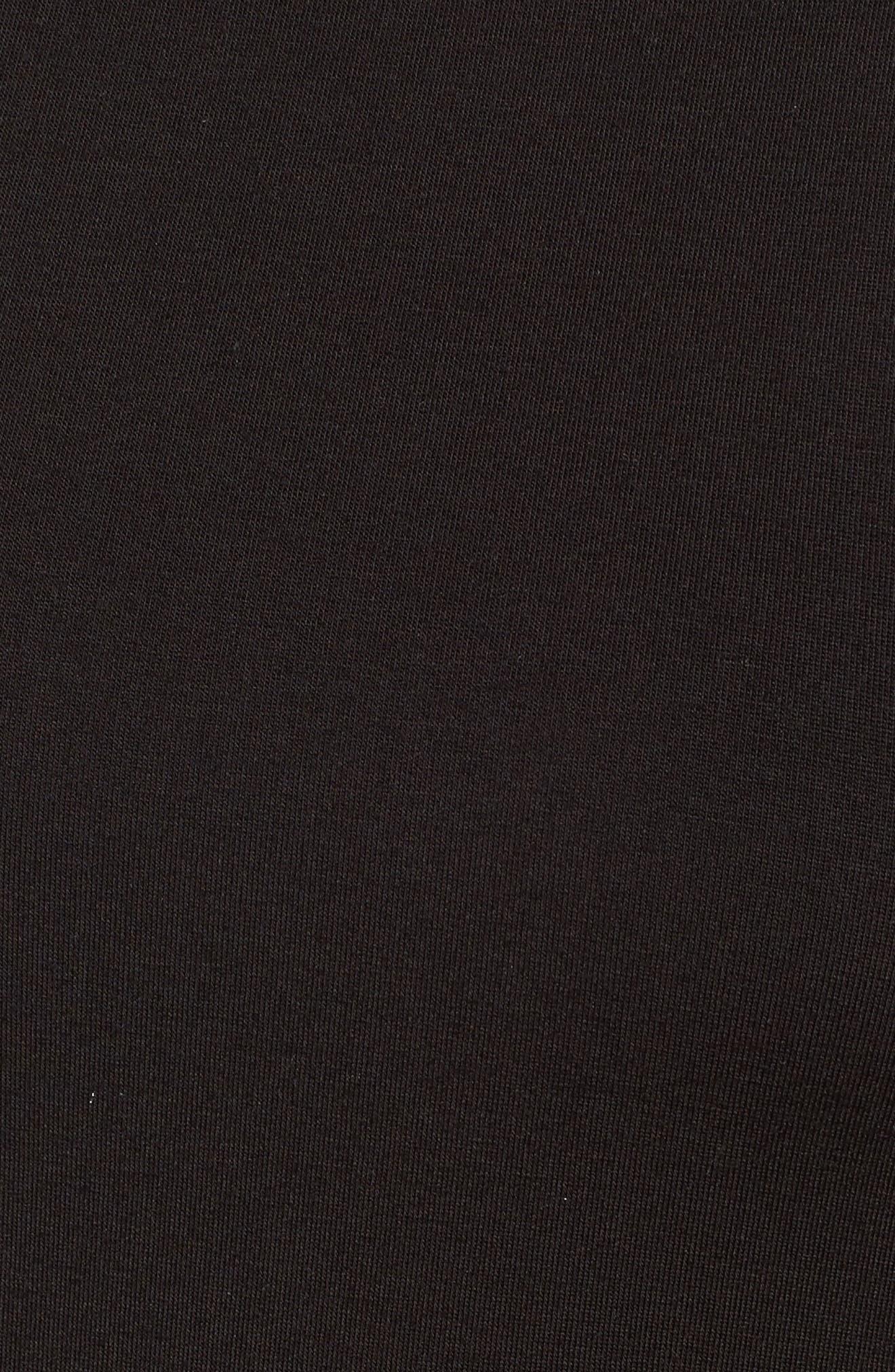 Turtleneck Maxi Dress,                             Alternate thumbnail 5, color,                             010