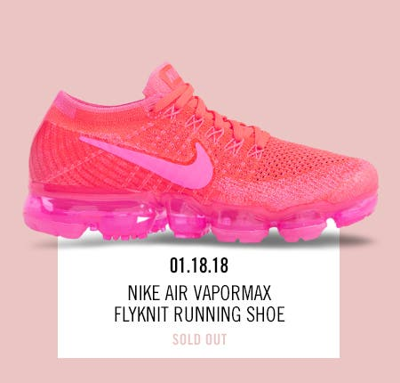 Nordstrom x Nike: new and hot Nike Air VaporMax Flyknit Running Shoe.