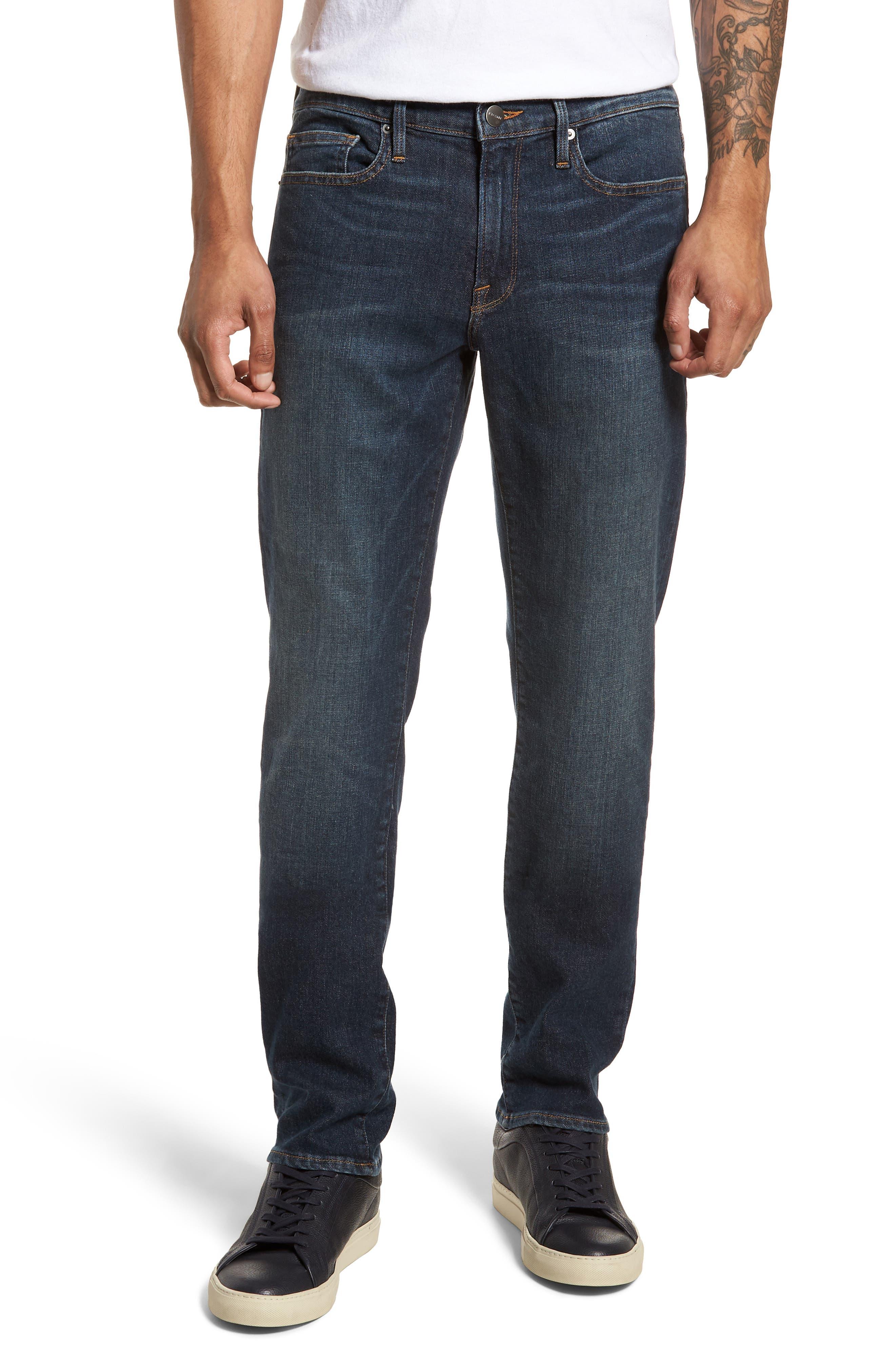 L'Homme Slim Fit Jeans,                             Main thumbnail 1, color,                             JOSHUA TREE