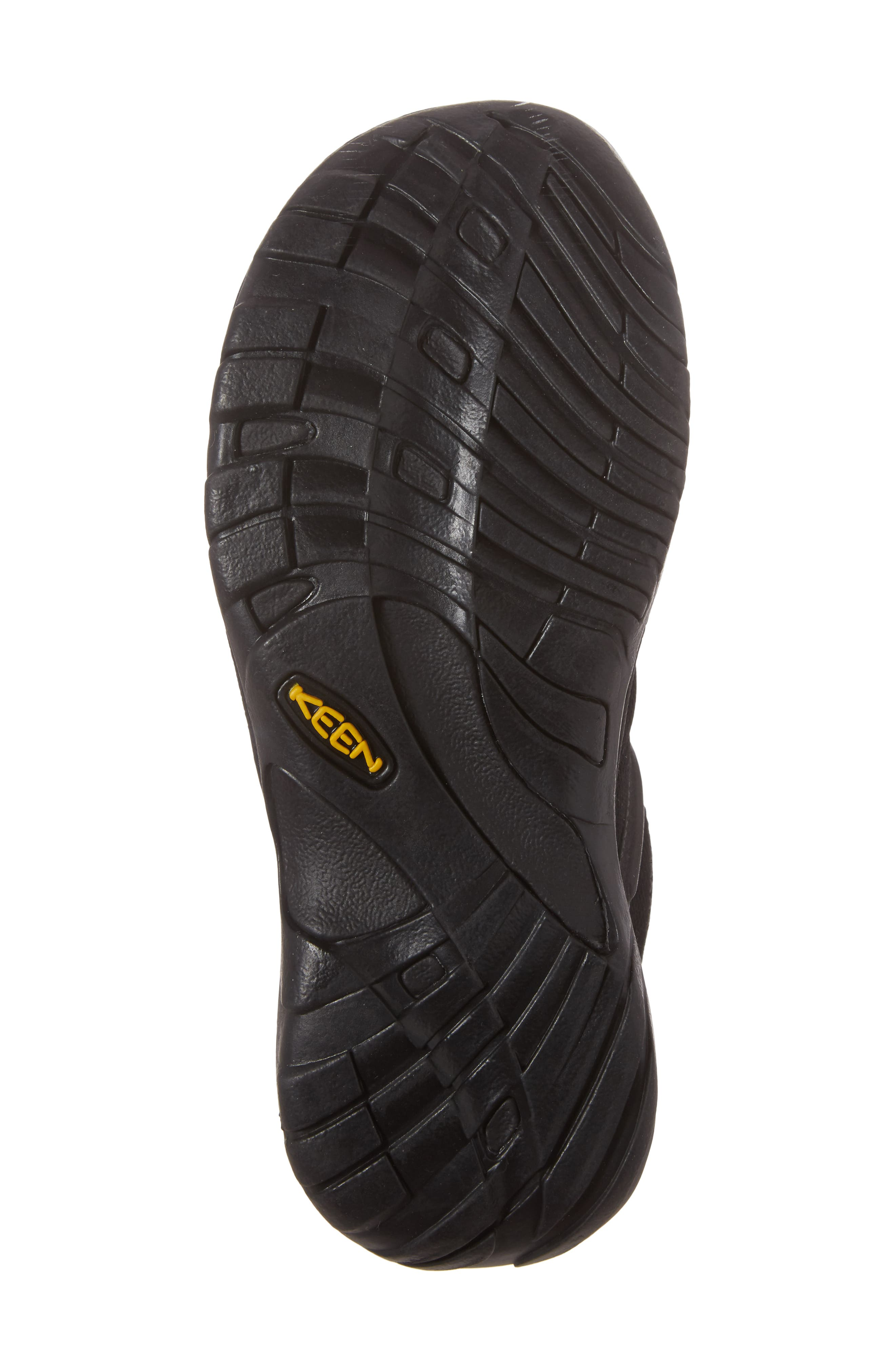 Presidio Waterproof Sport Sneaker,                             Alternate thumbnail 6, color,                             BLACK LEATHER