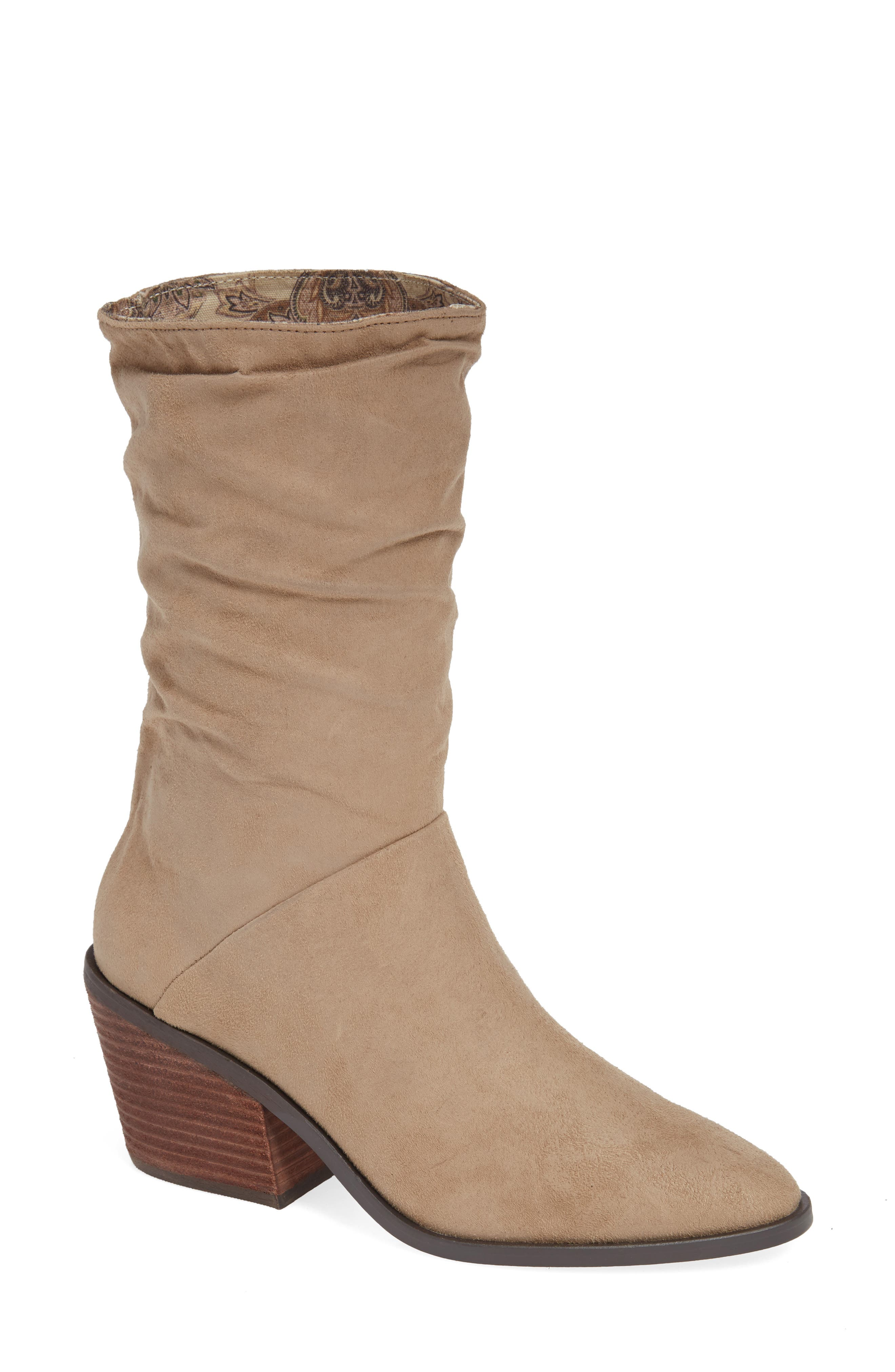 Crash Bootie, Main, color, NATURAL BURNISHED MICRO