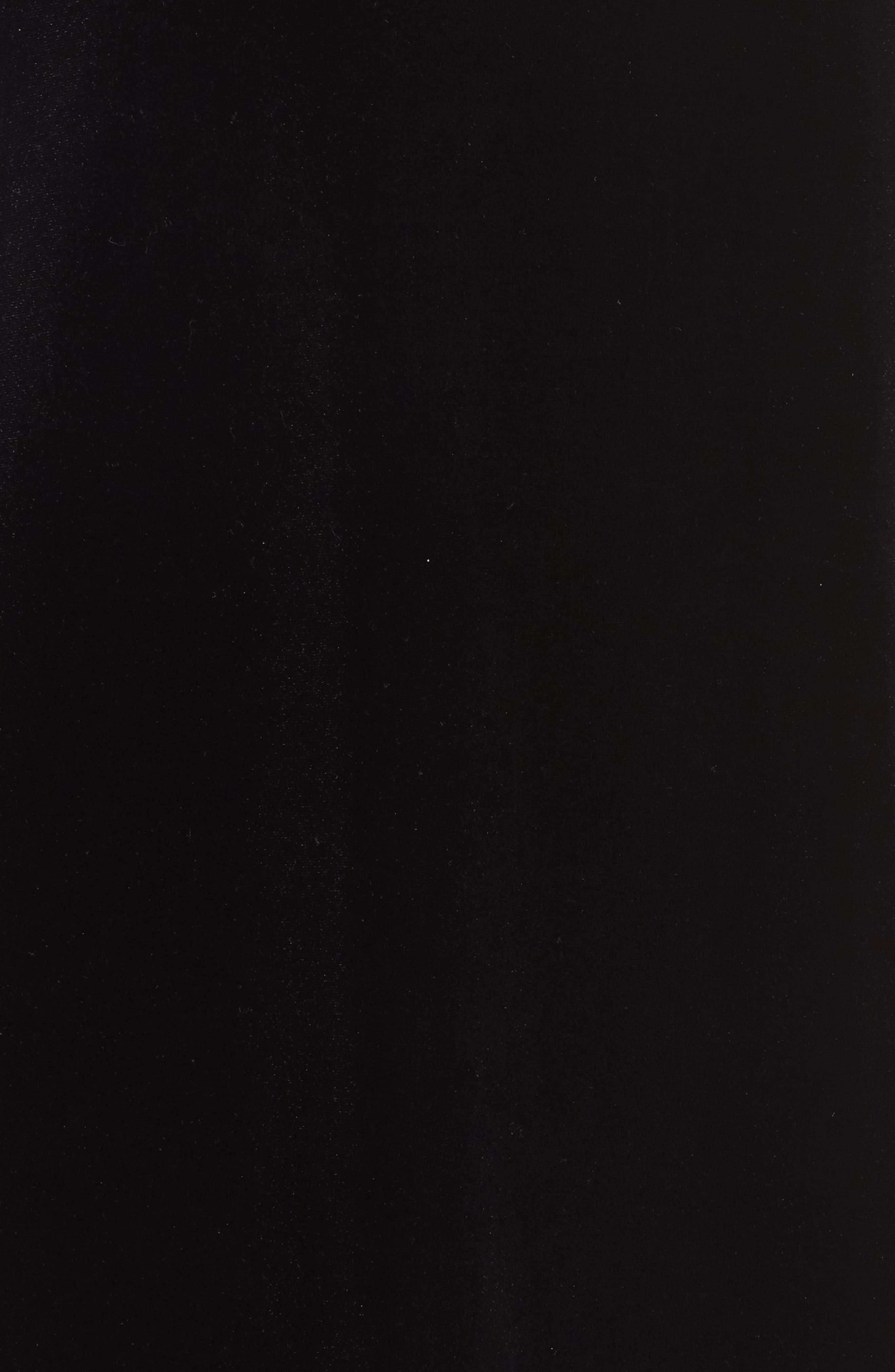 Aurore Velvet Shift Dress,                             Alternate thumbnail 5, color,                             001