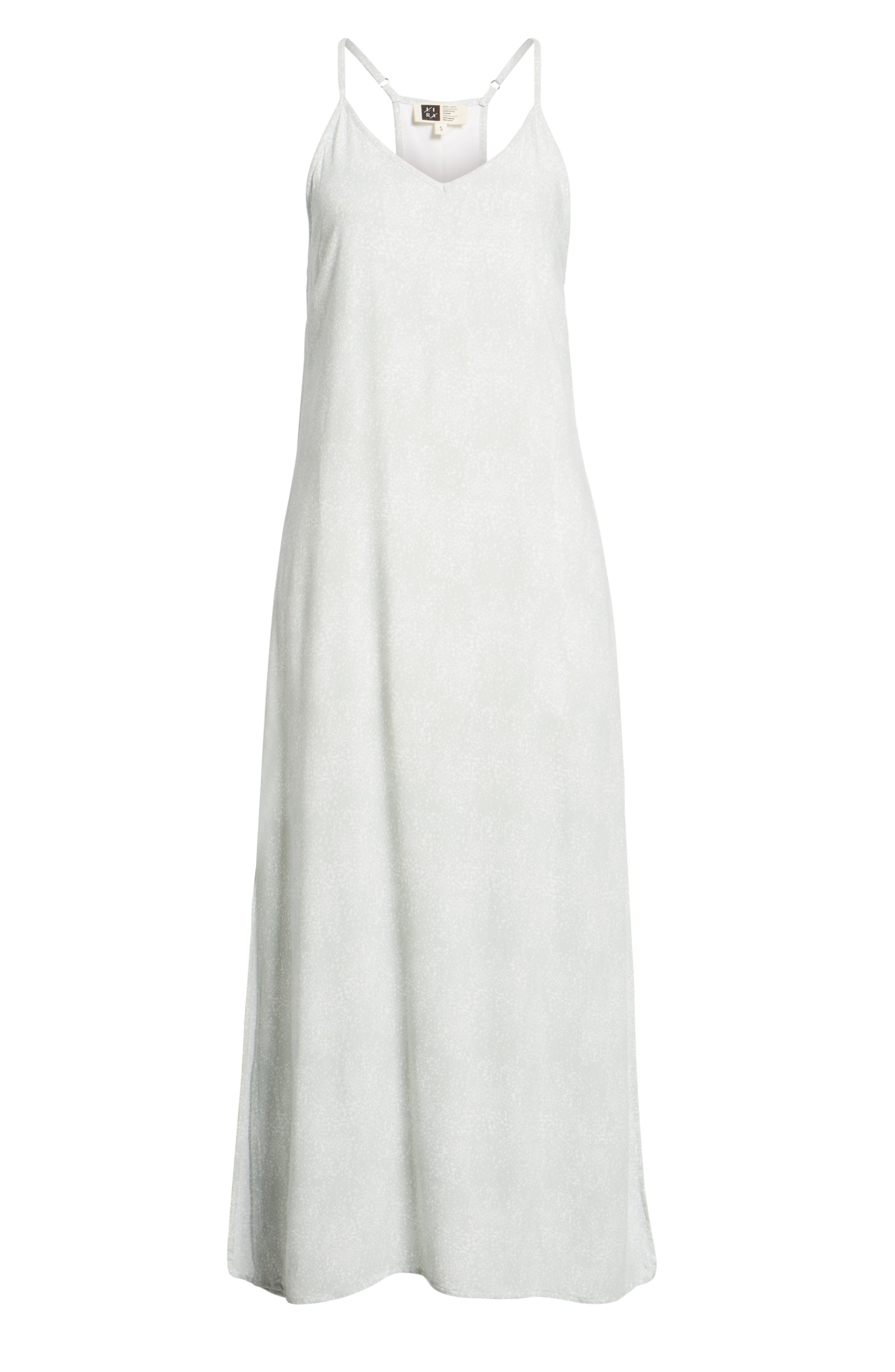 Misty Morning Maxi Dress,                             Alternate thumbnail 7, color,                             DEW