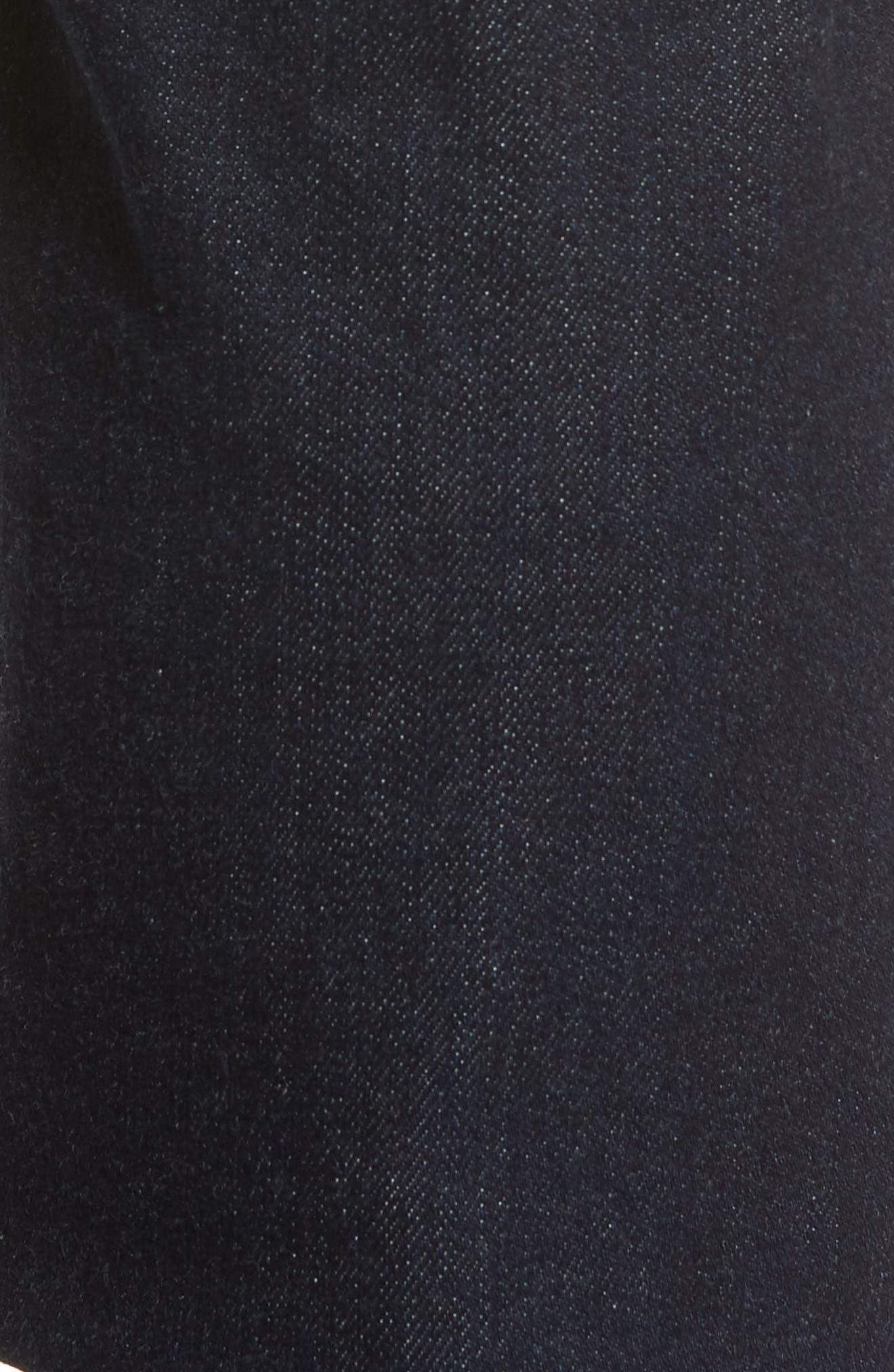 Graduate Slim Straight Leg Jeans,                             Alternate thumbnail 5, color,                             STELLAR