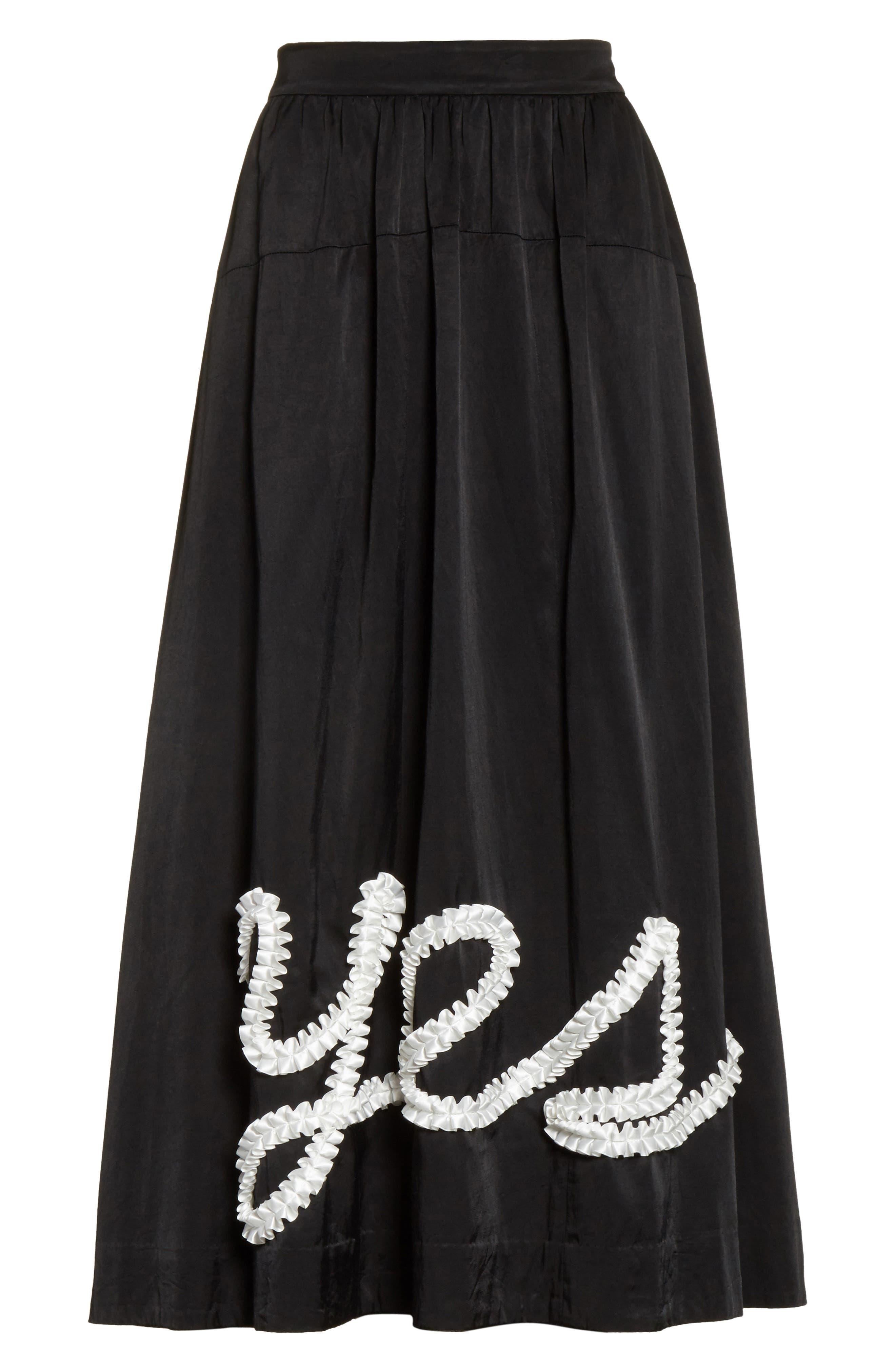 Yes Ribbon Maxi Skirt,                             Alternate thumbnail 6, color,