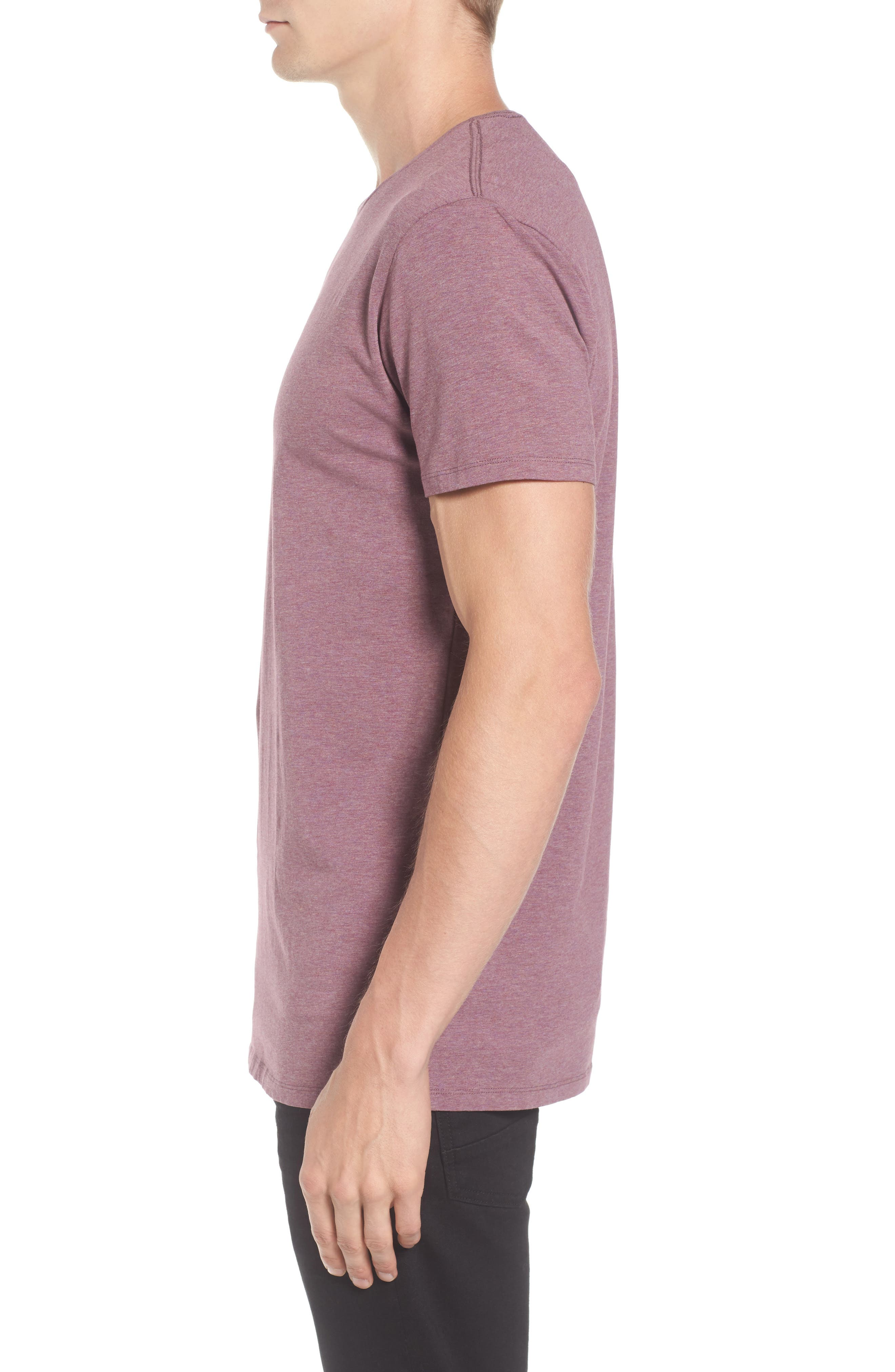 Classic Crewneck T-Shirt,                             Alternate thumbnail 3, color,                             500