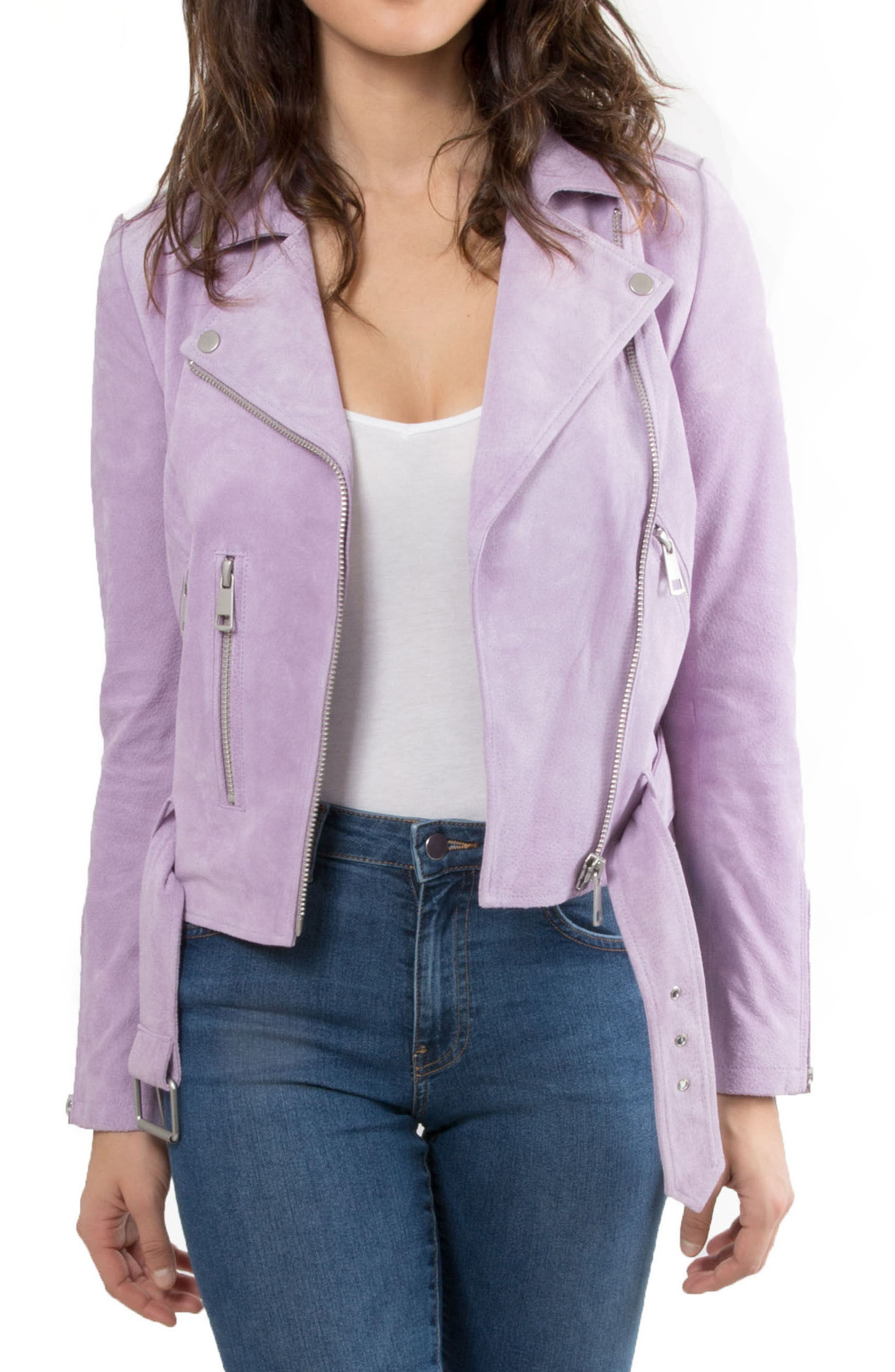 NYC  Suede Jacket,                             Main thumbnail 7, color,