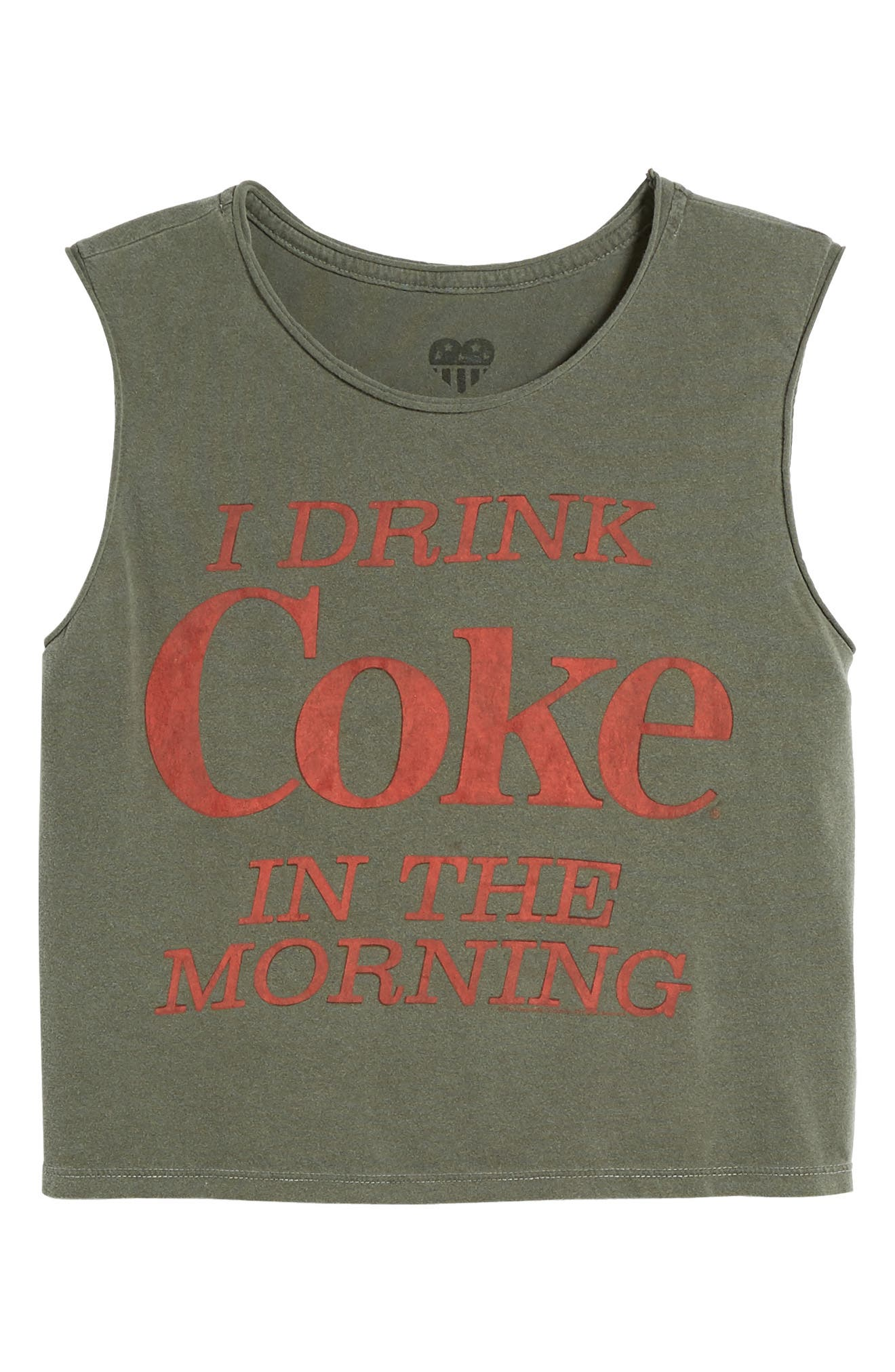 I Drink Coke in the Morning Tank,                             Alternate thumbnail 7, color,                             004