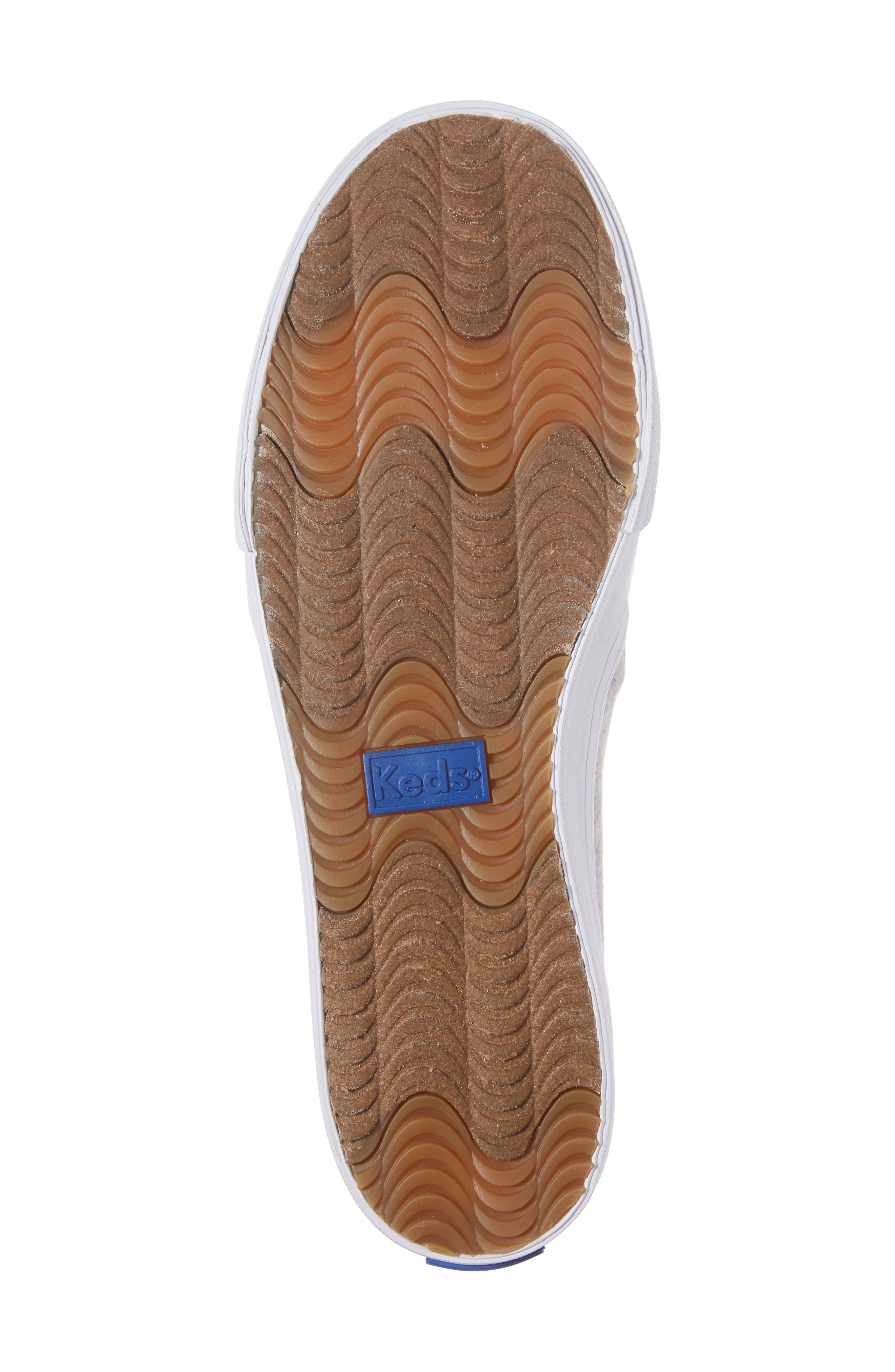 Double Decker Baseball Team Jersey Slip-On Sneaker,                             Alternate thumbnail 6, color,                             050