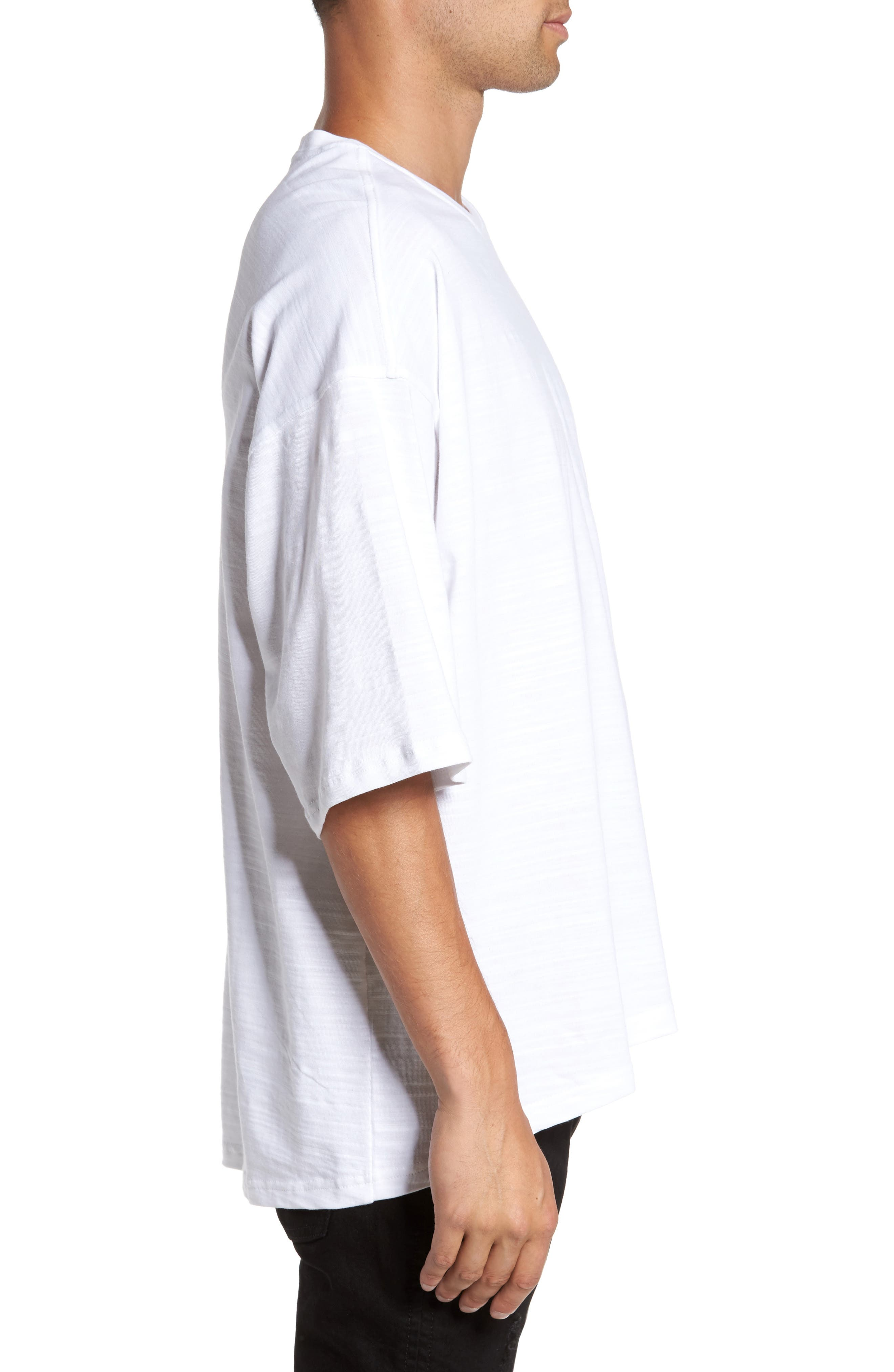 Relaxed Fit Crewneck T-Shirt,                             Alternate thumbnail 6, color,