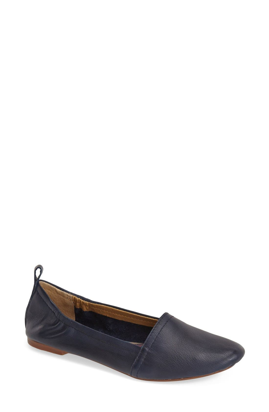 'Bettie' Leather Flat,                             Main thumbnail 7, color,