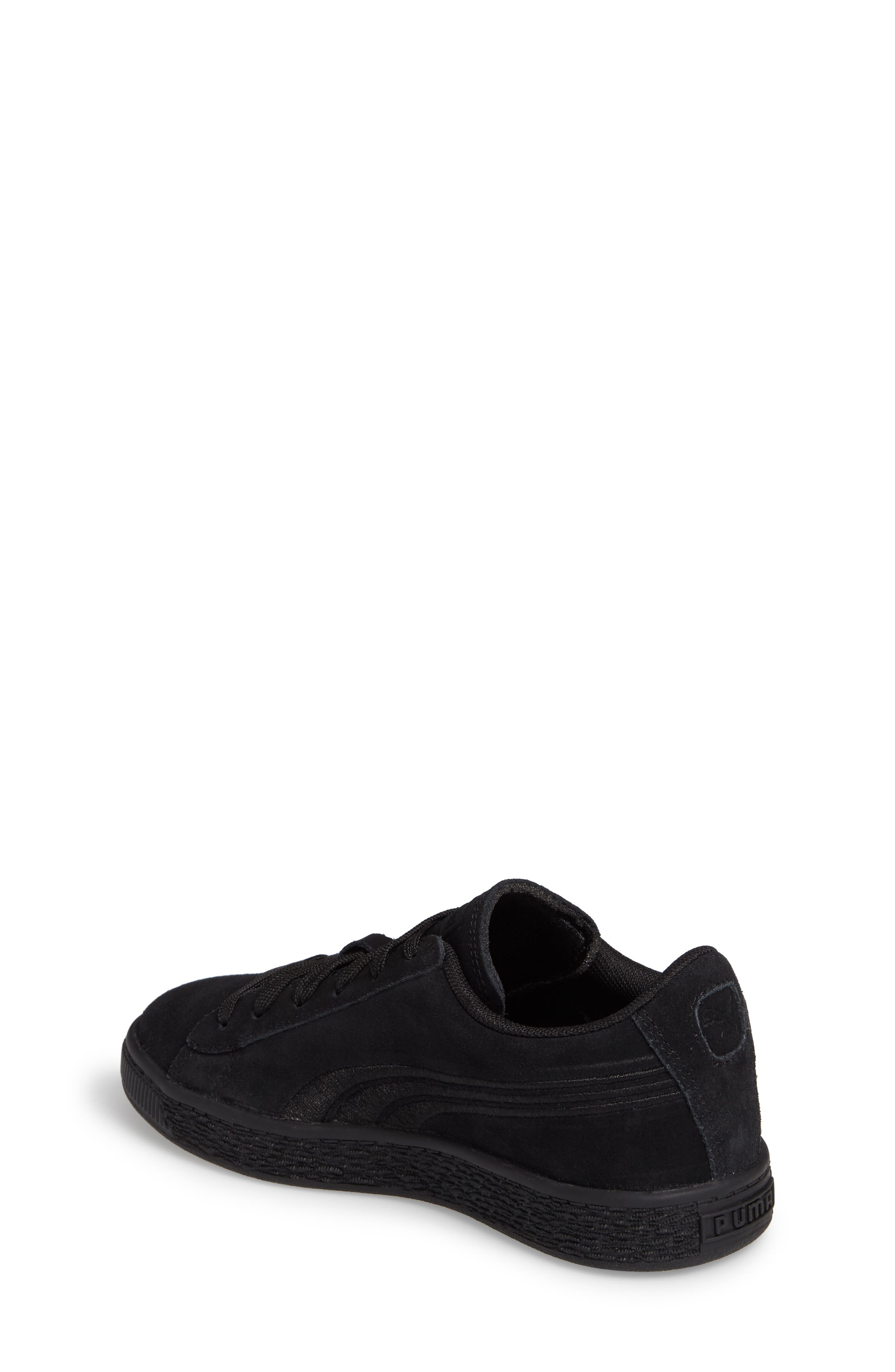 Suede Classic Badge PS Sneaker,                             Alternate thumbnail 2, color,                             001