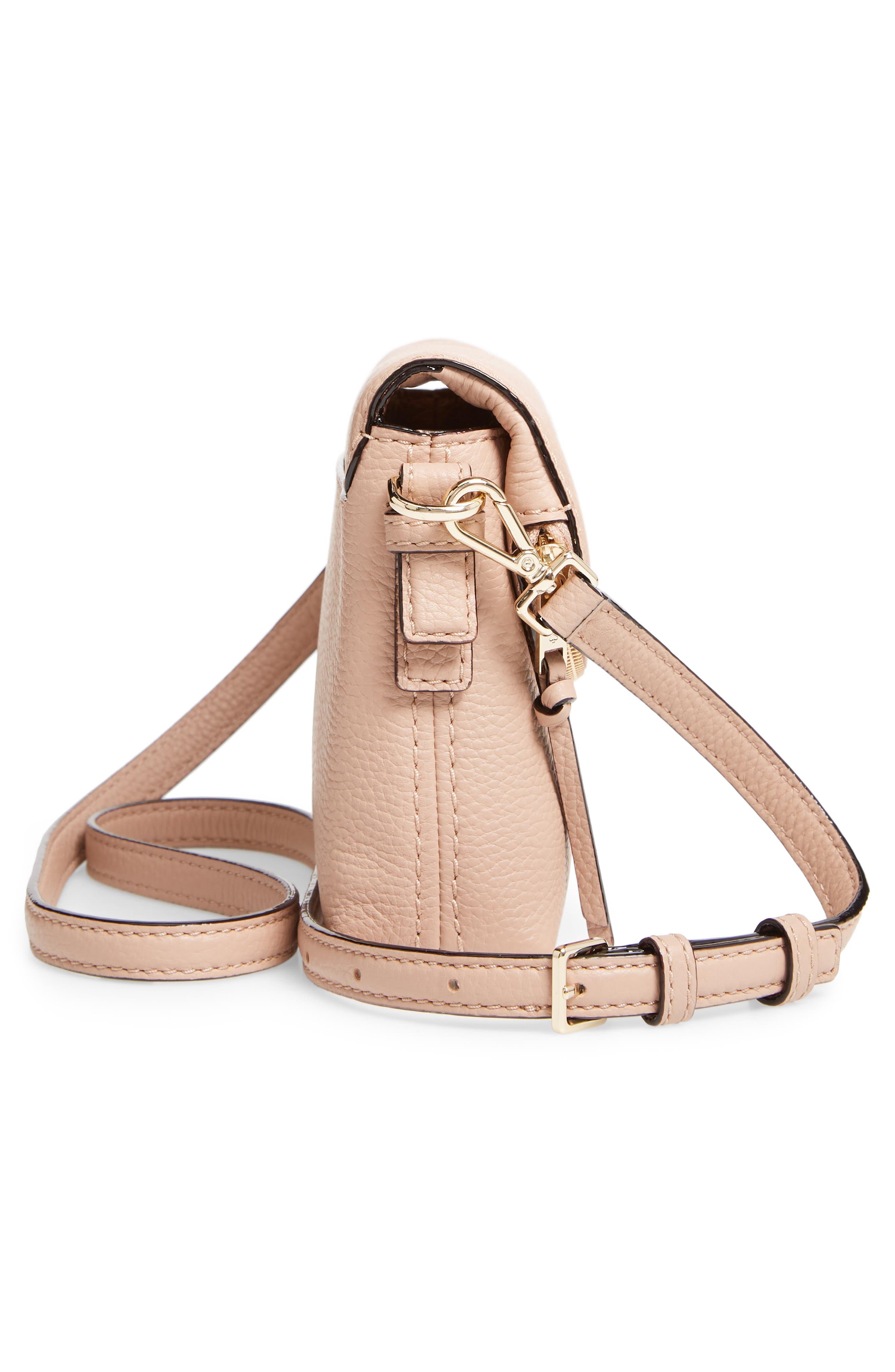 KATE SPADE NEW YORK,                             jackson street small harlyn leather crossbody bag,                             Alternate thumbnail 5, color,                             253