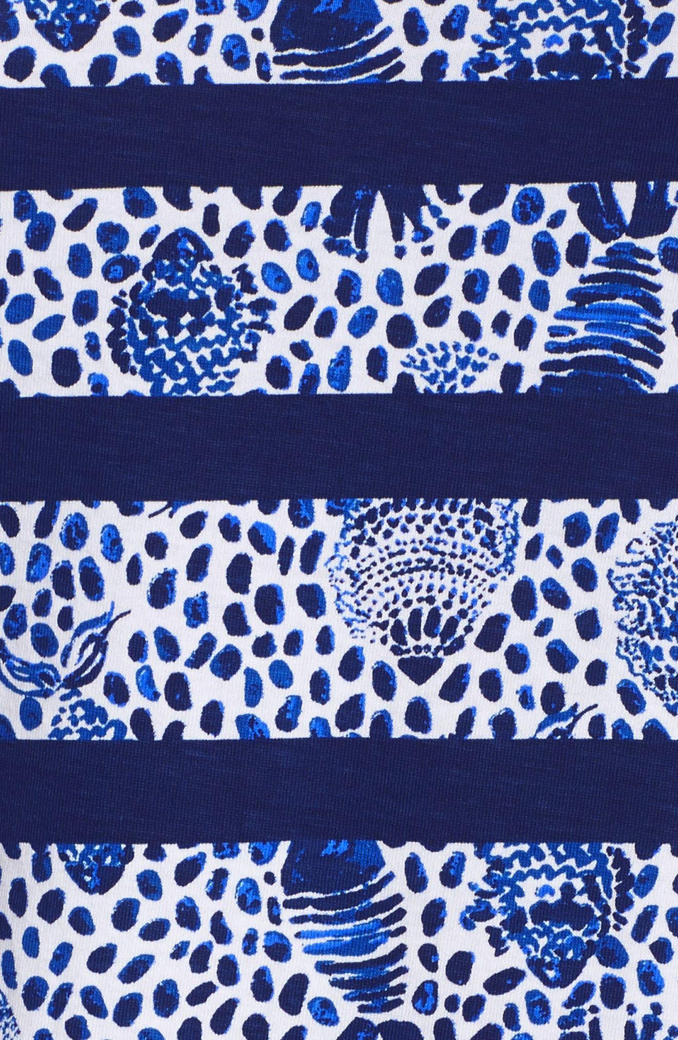 Lajolla Stripe Dress,                             Alternate thumbnail 6, color,