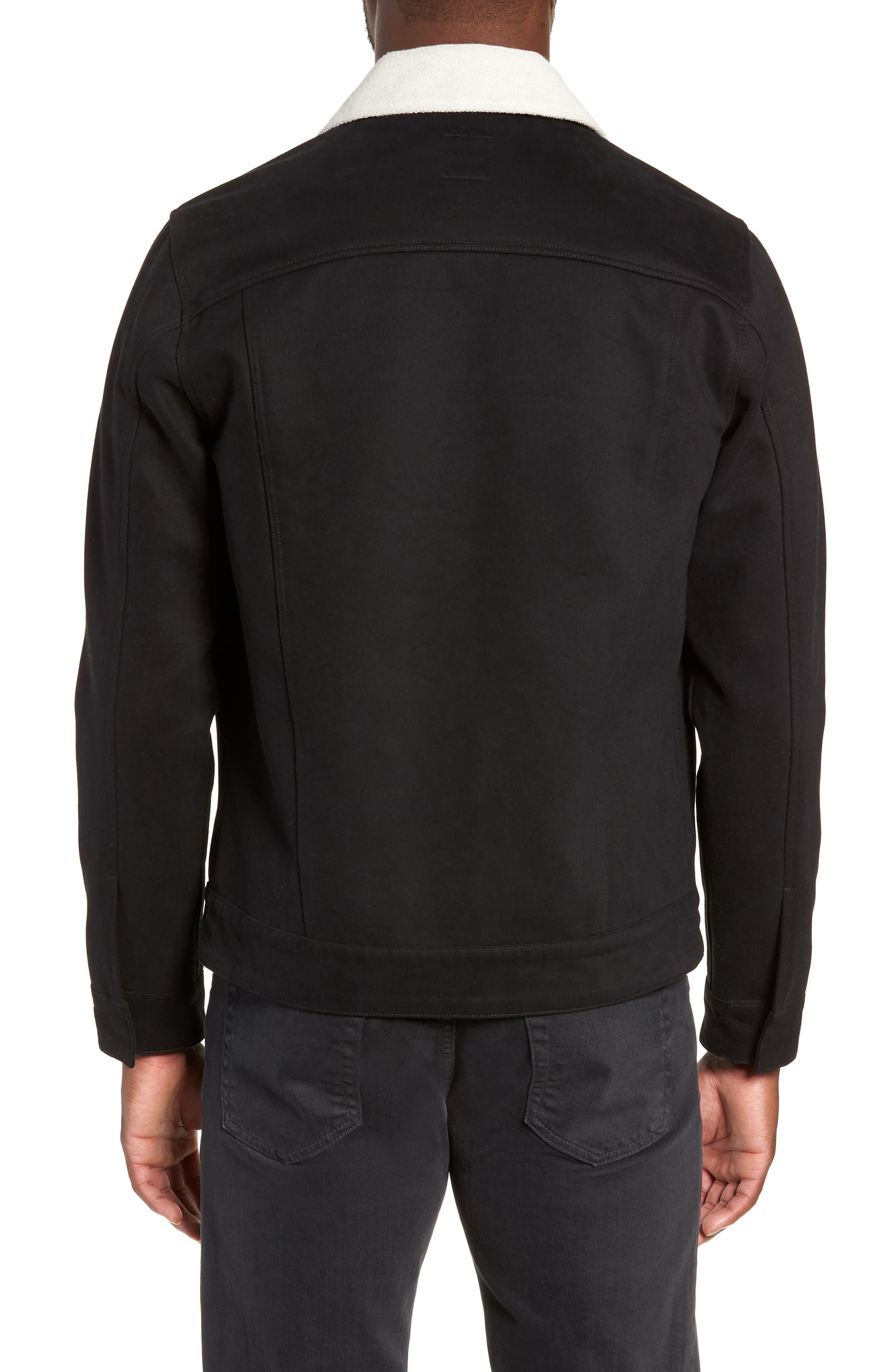 Webster Workman Jacket,                             Alternate thumbnail 2, color,                             BLACK