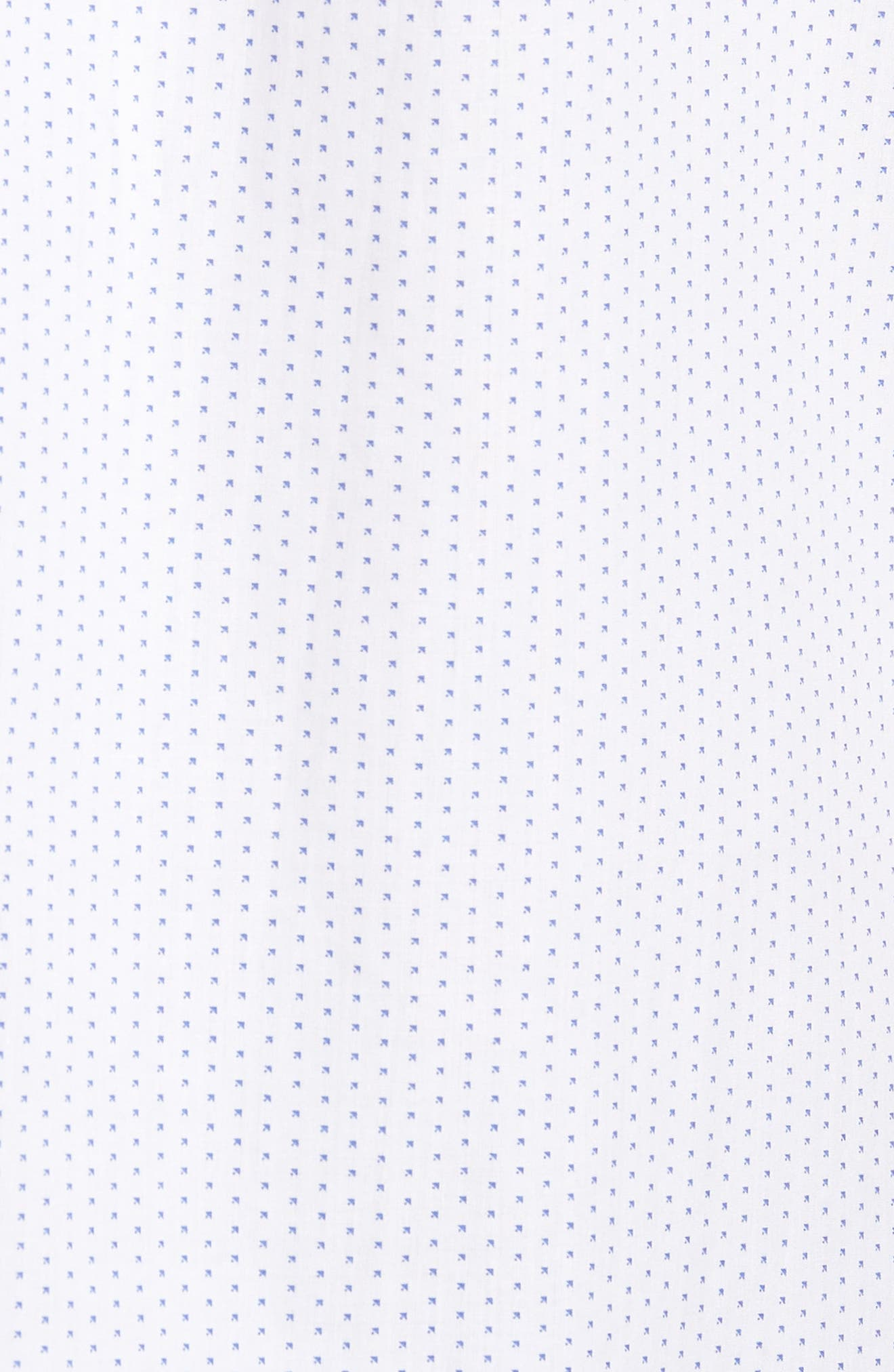 Murrary Trim Fit Dot Short Sleeve Sport Shirt,                             Alternate thumbnail 5, color,                             100