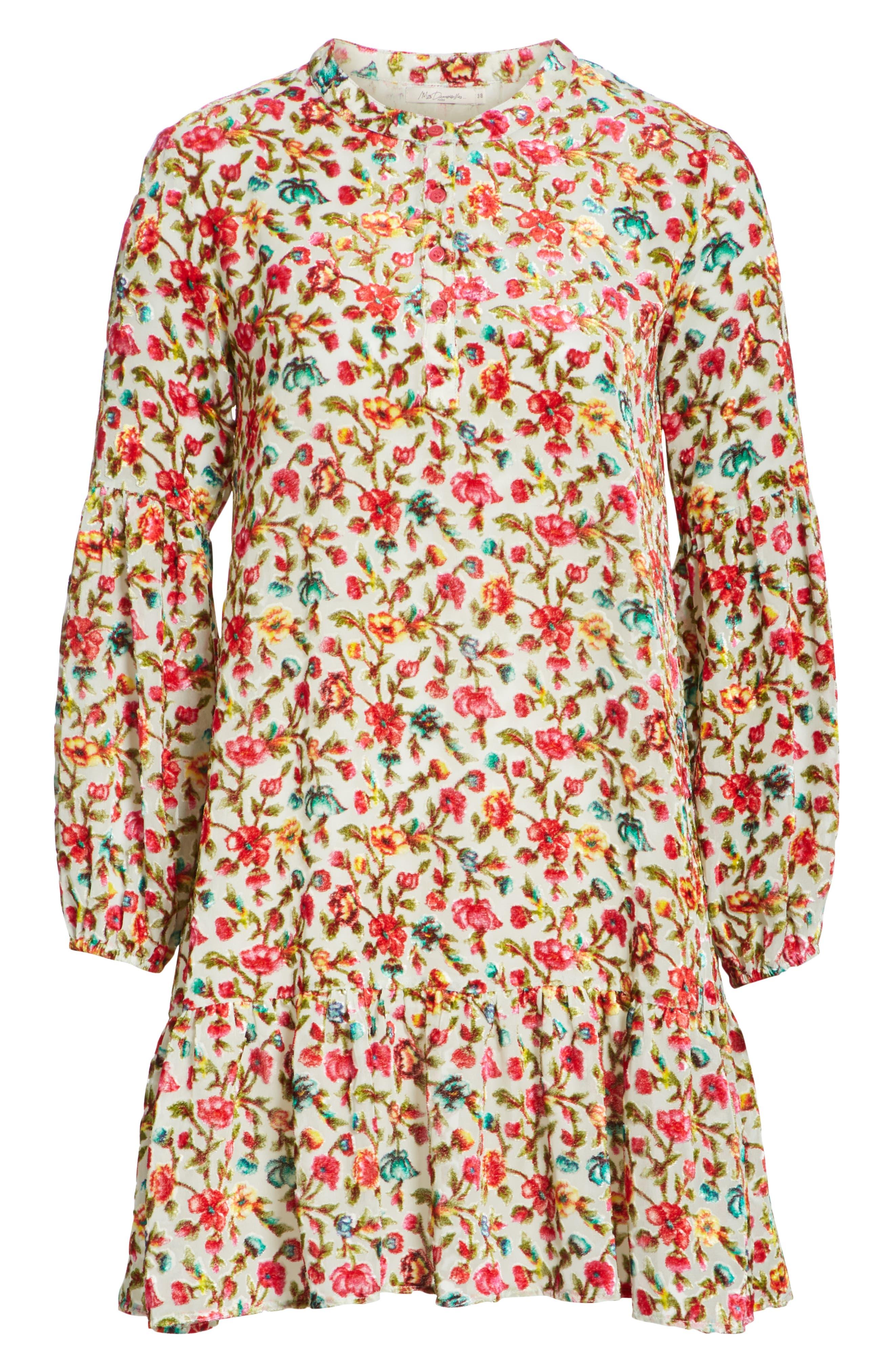 Simpson Printed Dress,                             Alternate thumbnail 6, color,                             693