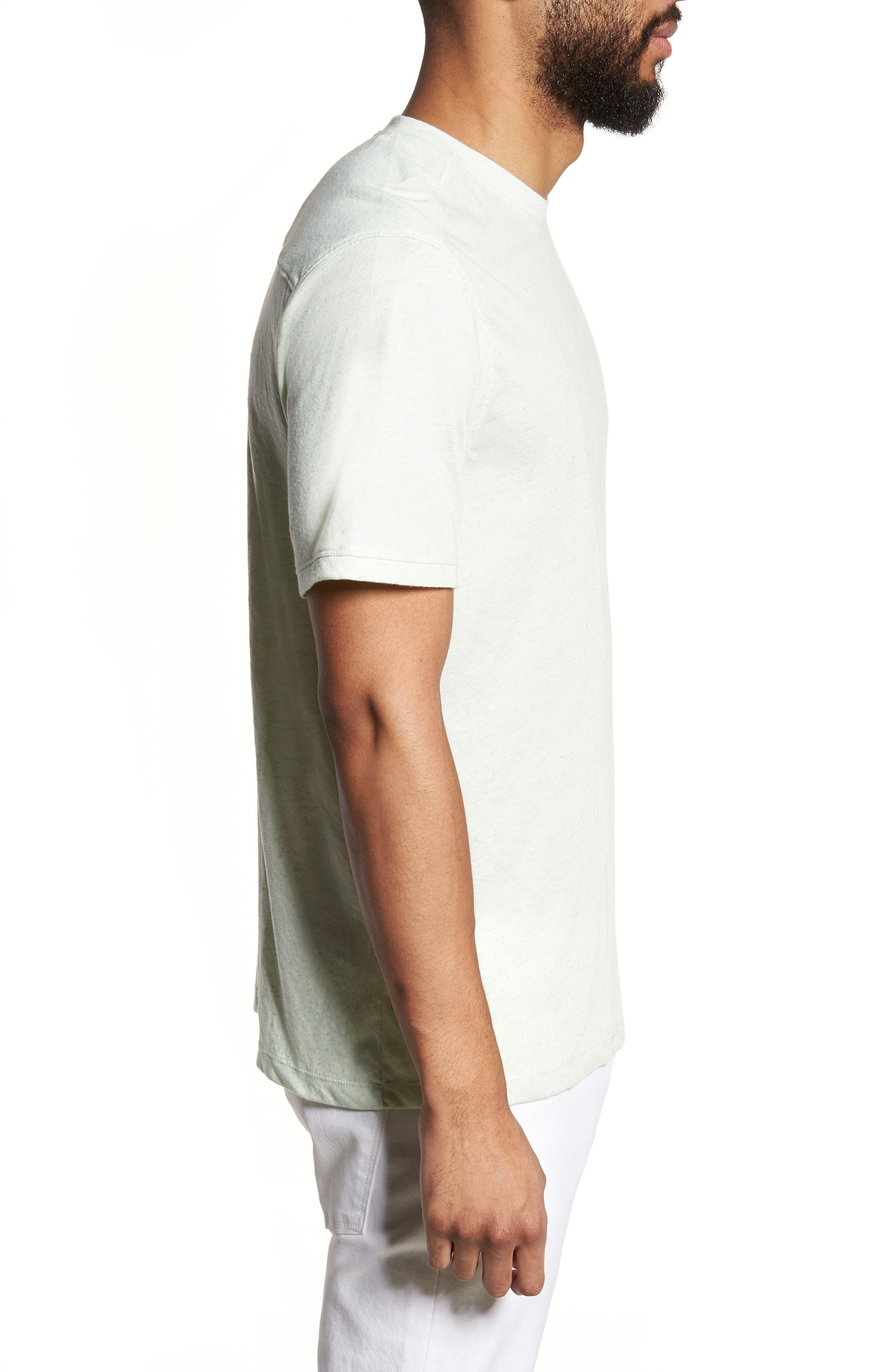 Crewneck T-Shirt,                             Alternate thumbnail 3, color,                             310