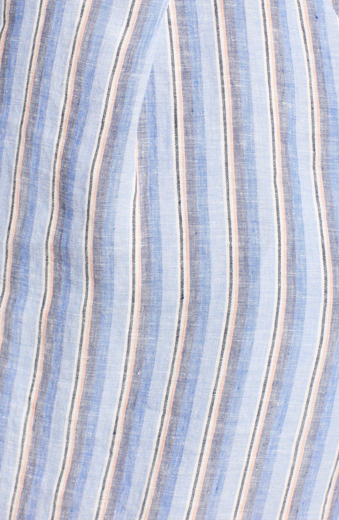 Linen Shirtdress,                             Alternate thumbnail 5, color,                             420