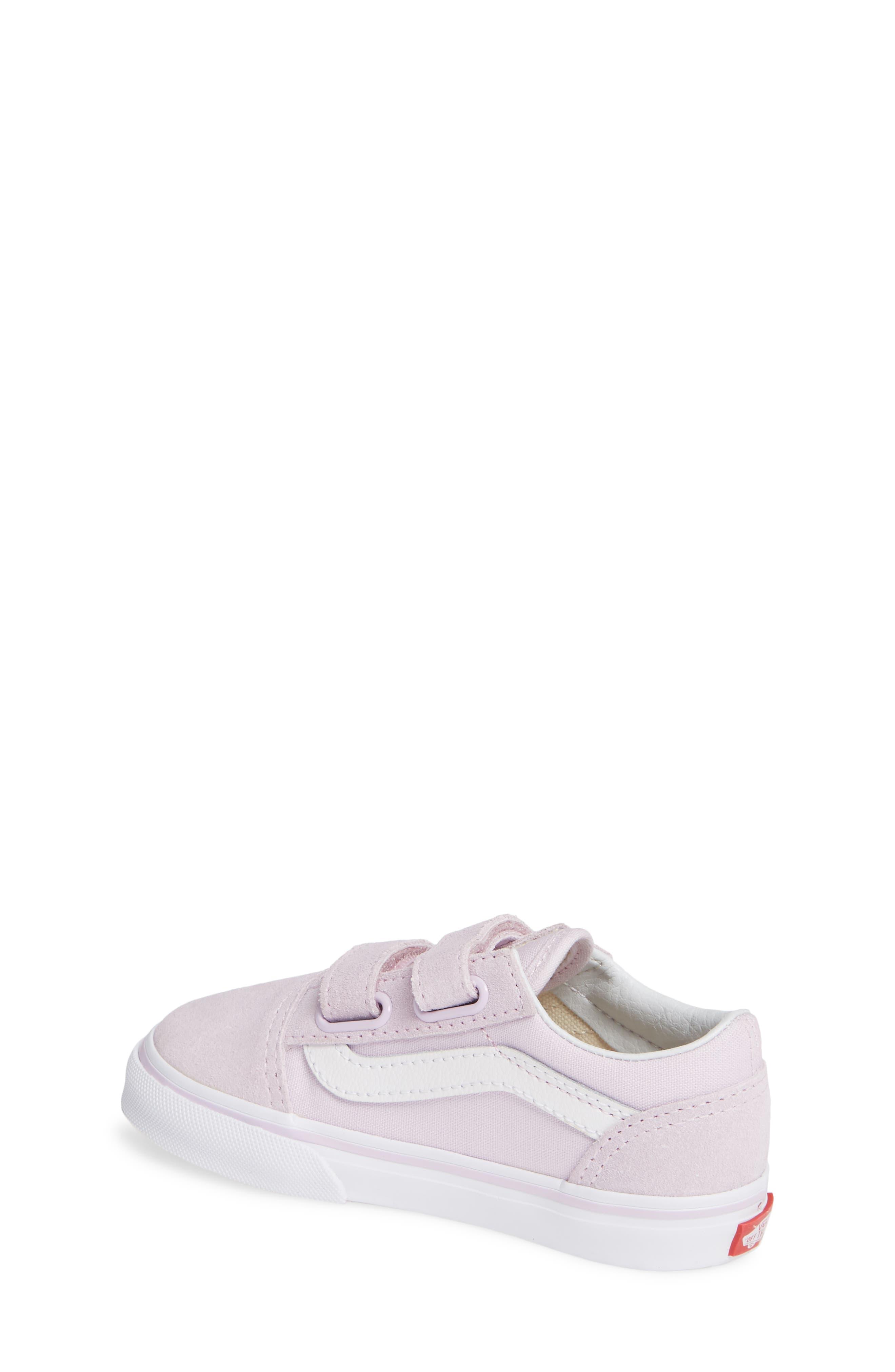 'Old Skool V' Sneaker,                             Alternate thumbnail 2, color,                             LAVENDER FOG/ TRUE WHITE