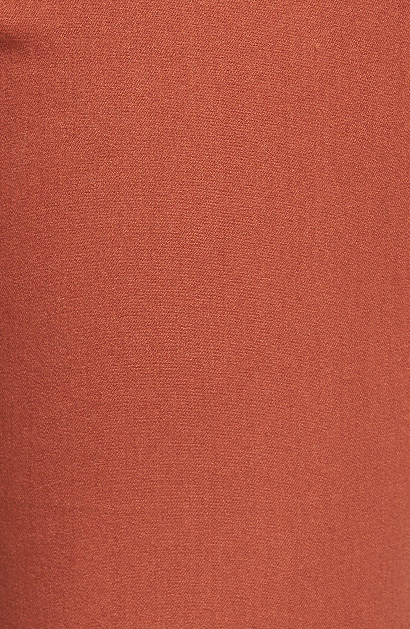 Crop Stretch Cotton Pants,                             Alternate thumbnail 96, color,