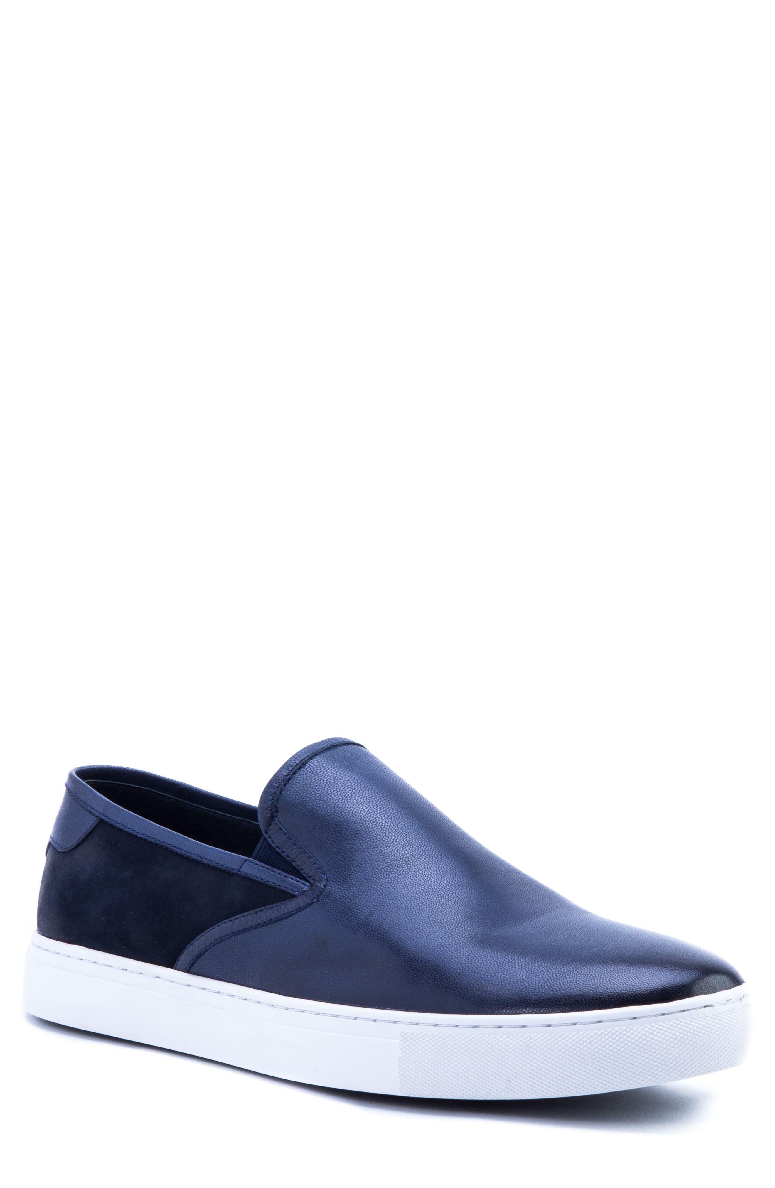 Zanzara Duchamps Slip-On Sneaker, Blue