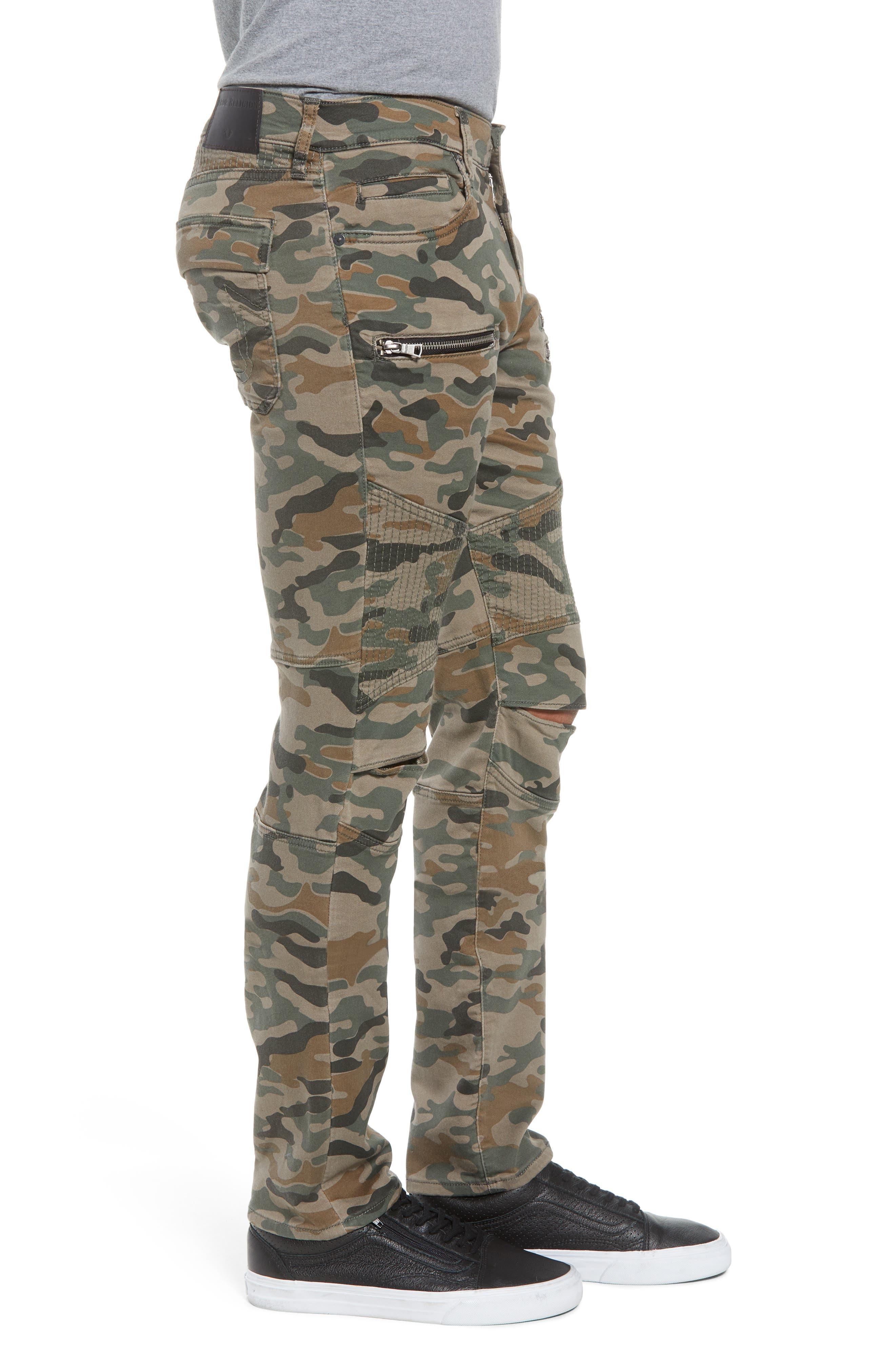 Drift Straight Leg Camo Pants,                             Alternate thumbnail 3, color,                             300