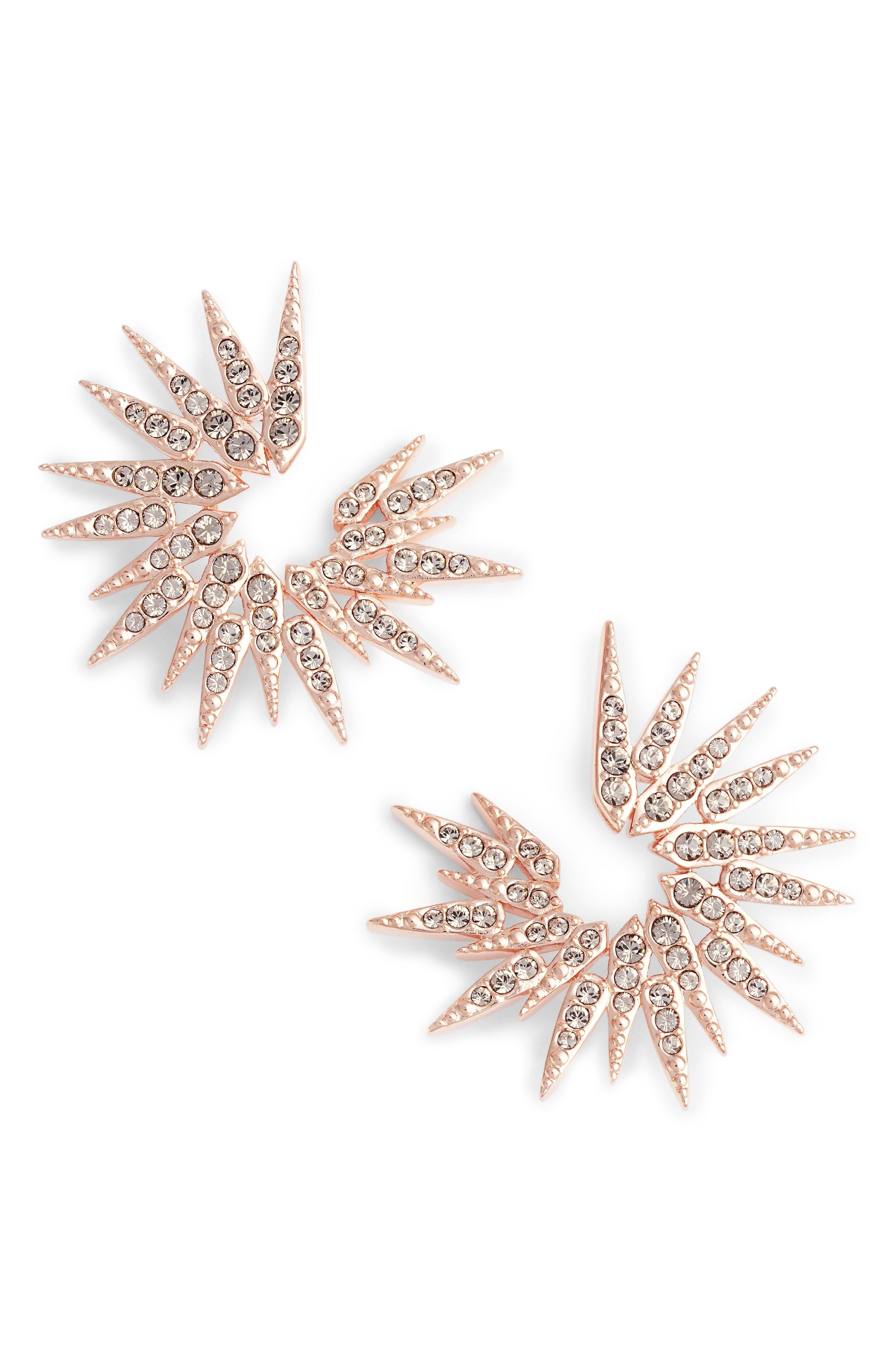 Sparkle Burst Earrings,                             Main thumbnail 2, color,
