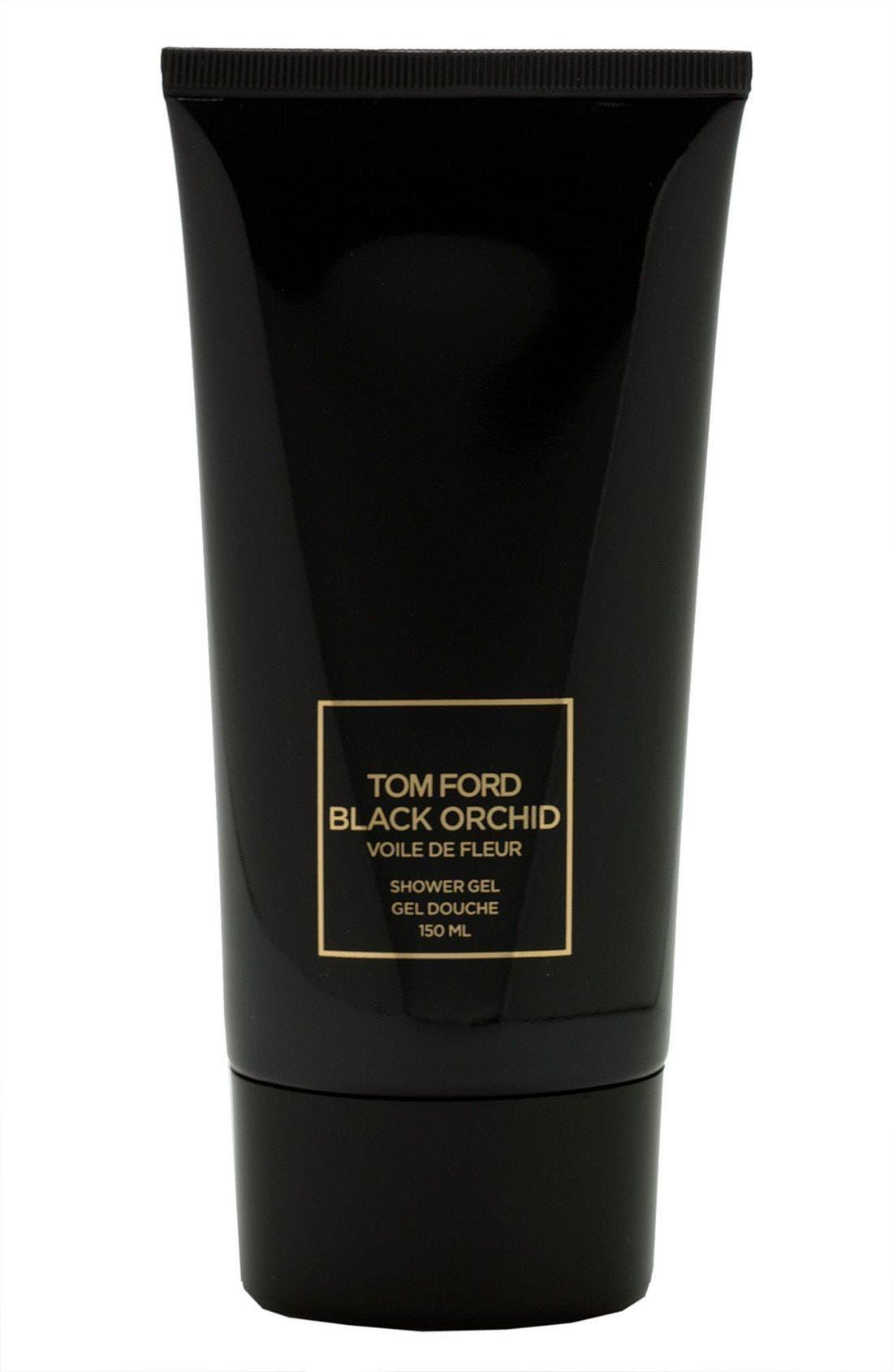 'Black Orchid - Voile de Fleur' Shower Gel, Main, color, 000