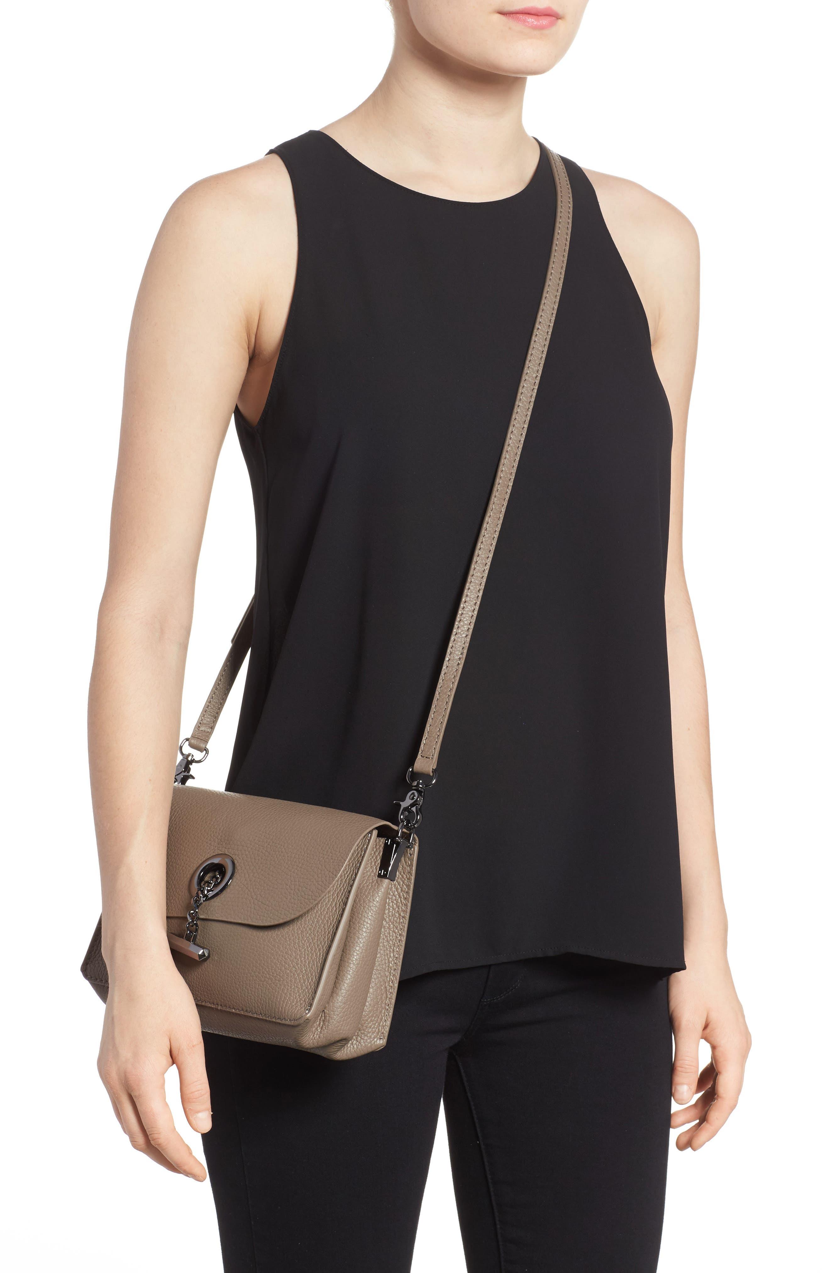 Waverly Leather Crossbody Bag,                             Alternate thumbnail 13, color,