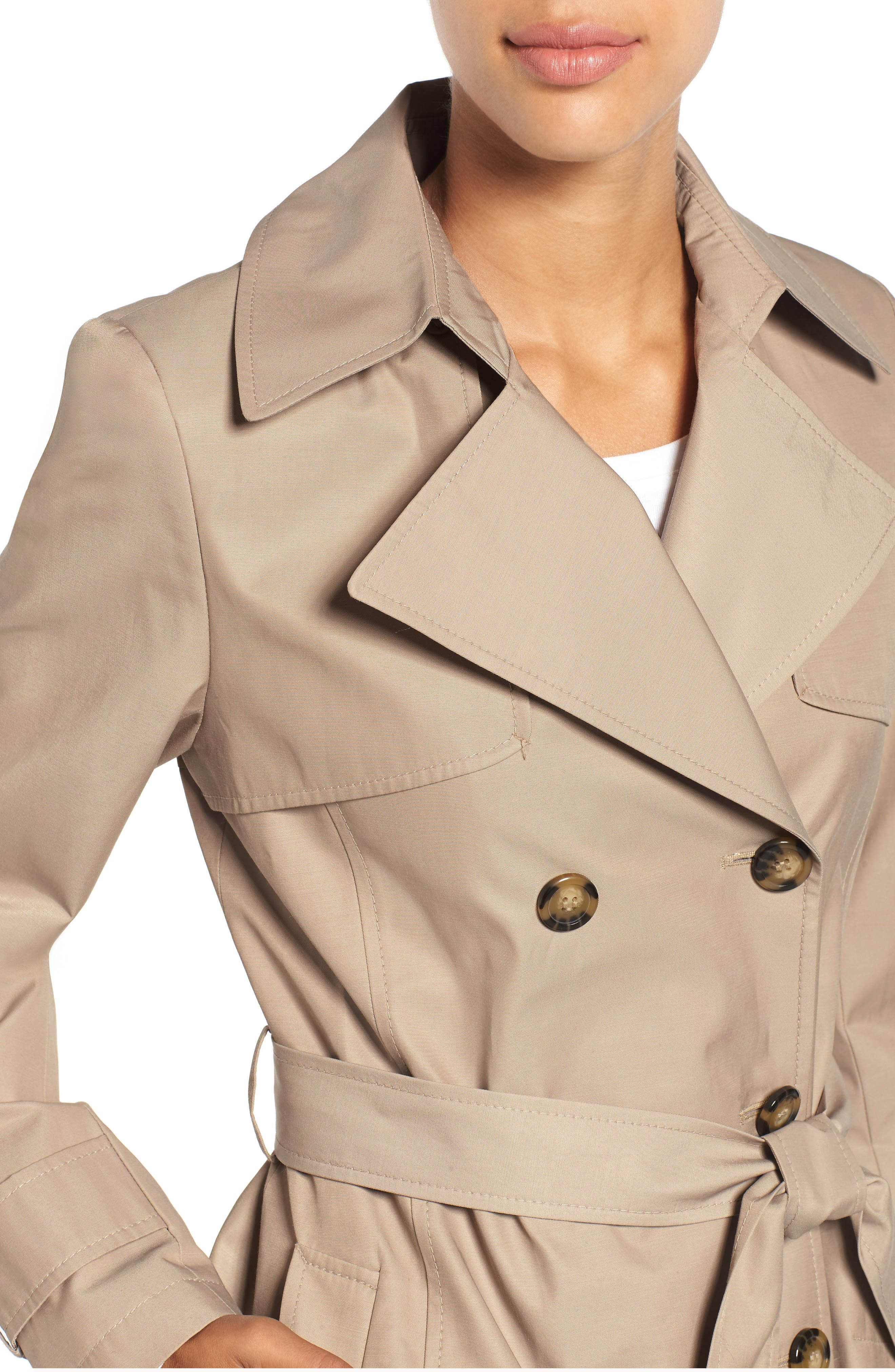 Detachable Hood Trench Coat,                             Alternate thumbnail 13, color,