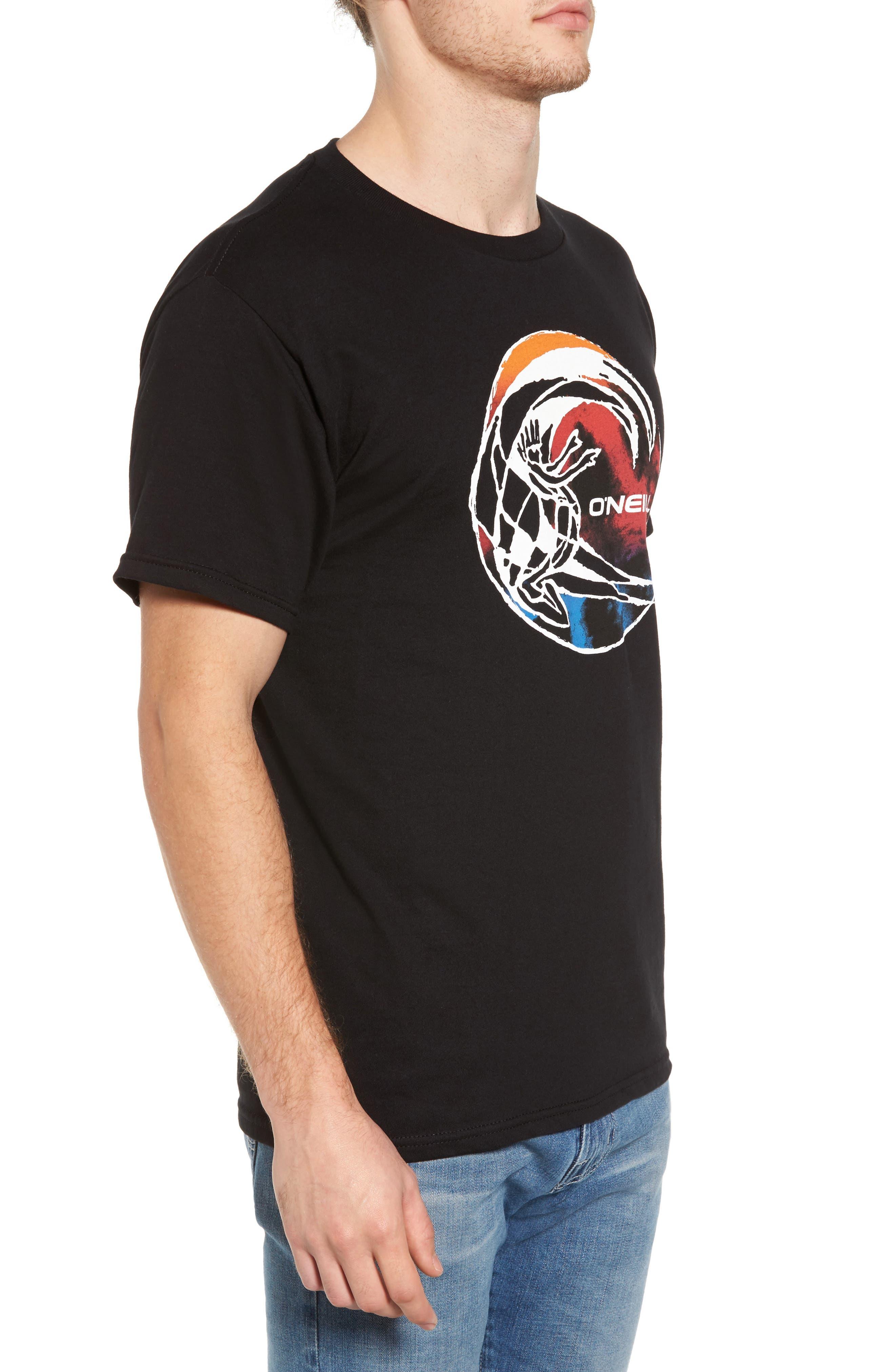 Far Out Cult Graphic T-Shirt,                             Alternate thumbnail 3, color,                             001
