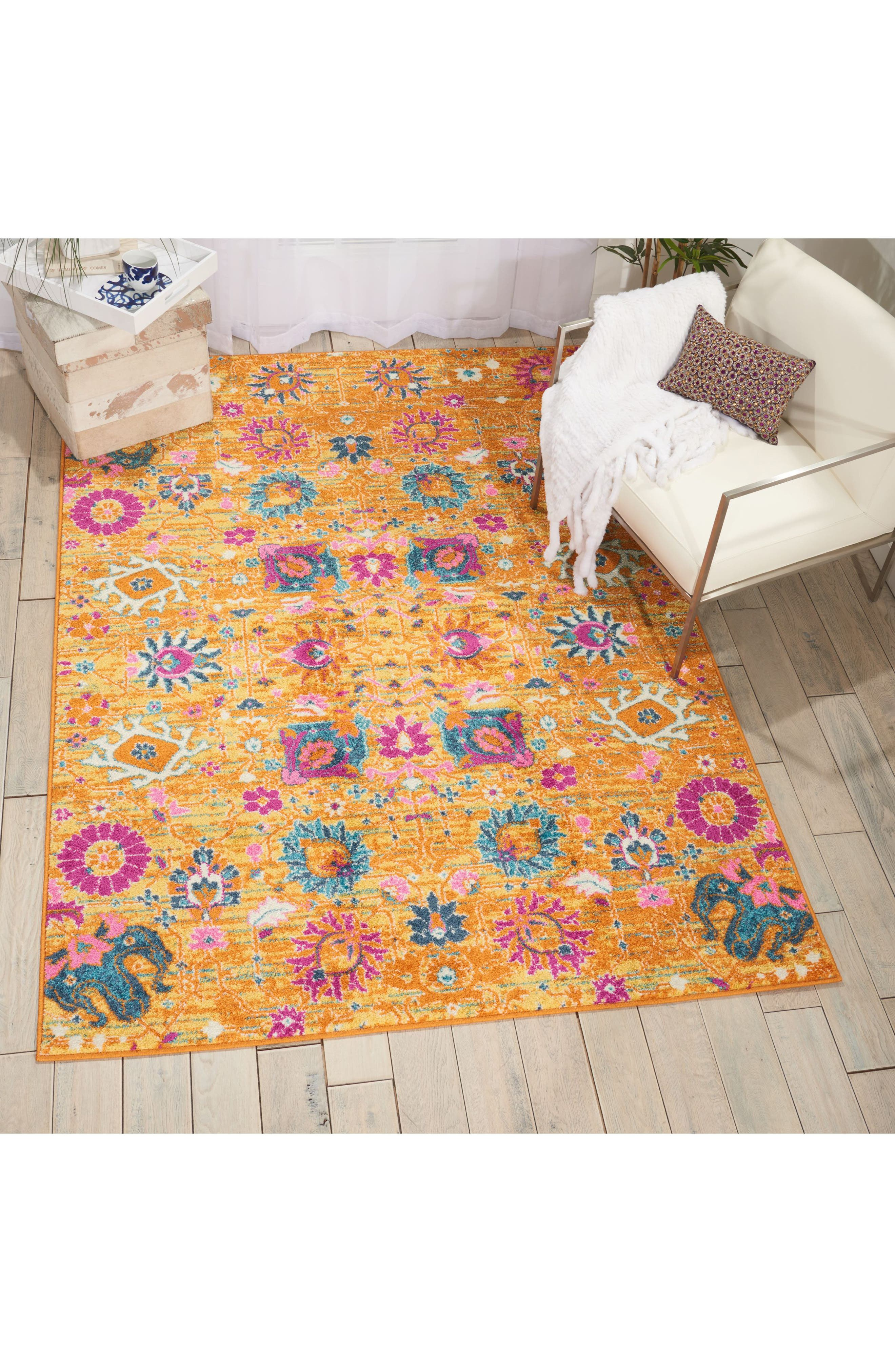 Sunburst Rug,                             Alternate thumbnail 6, color,                             800