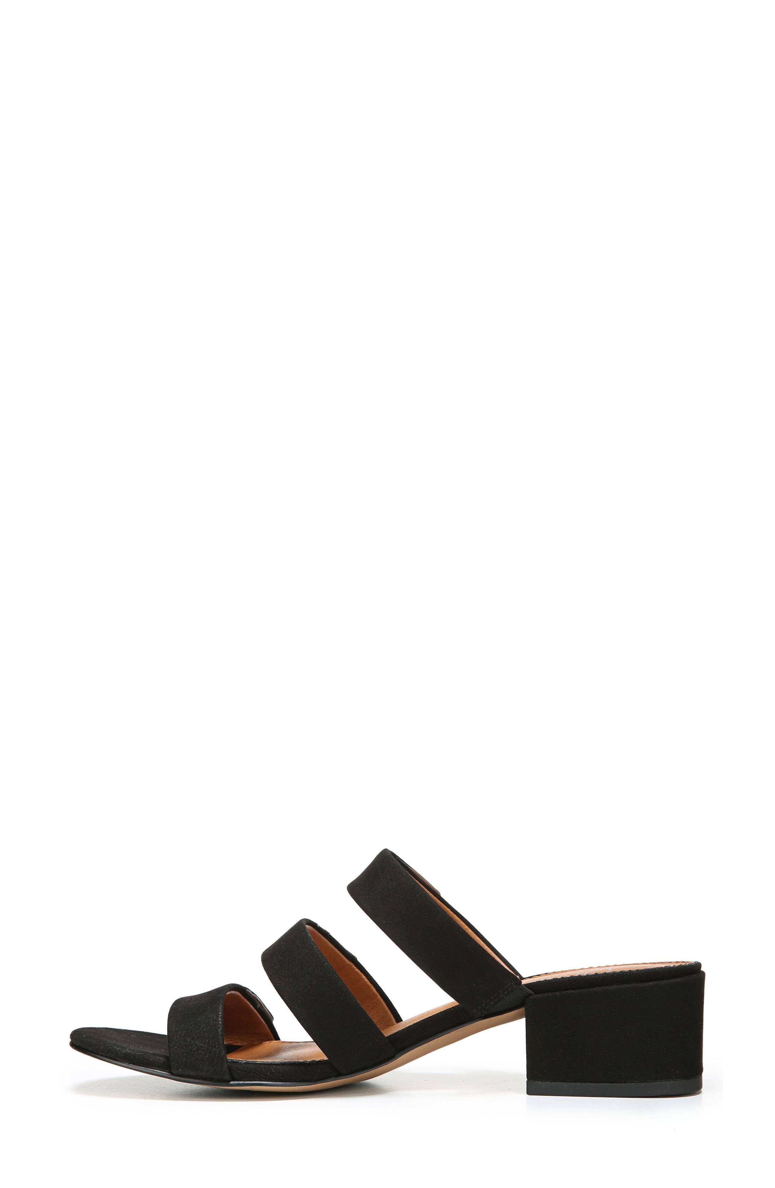 Arabesque Strappy Slide Sandal,                             Alternate thumbnail 3, color,                             001