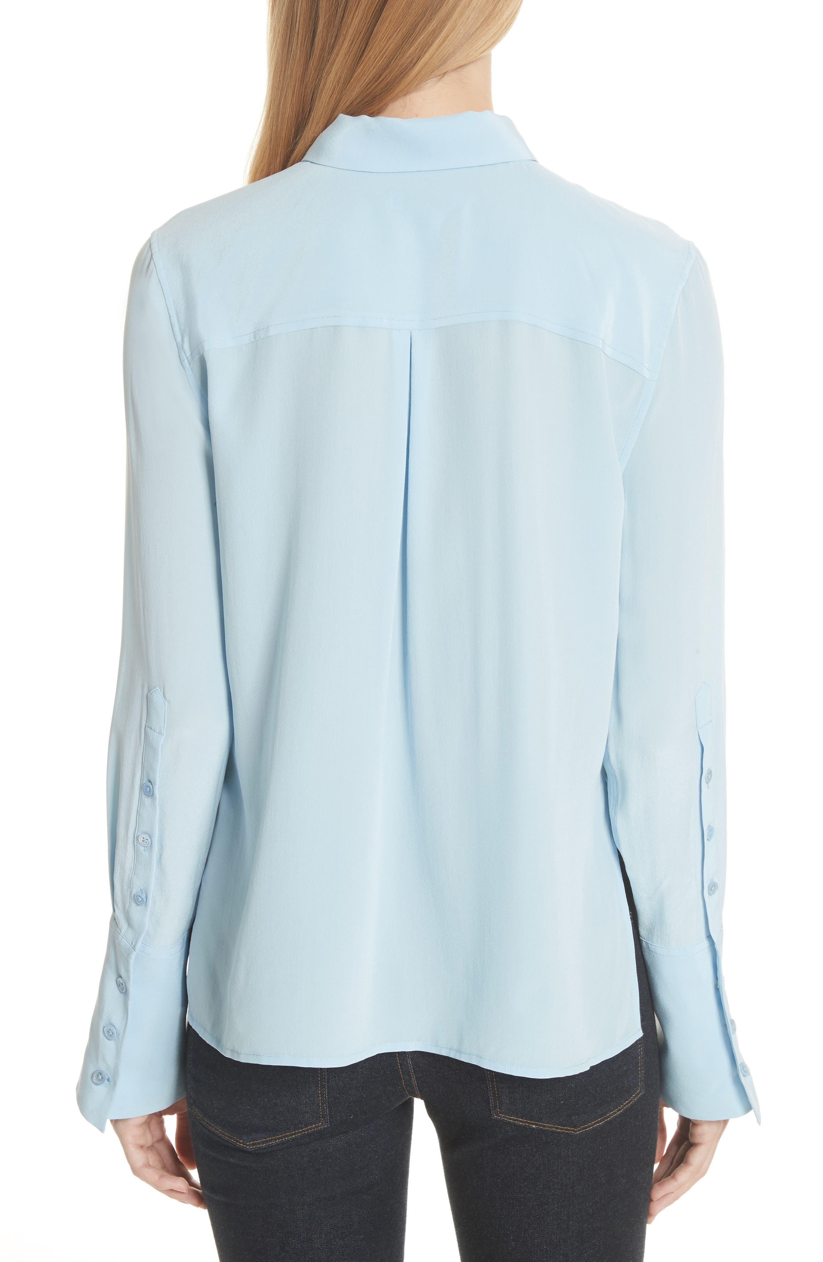 Darla Bell Cuff Shirt,                             Alternate thumbnail 6, color,