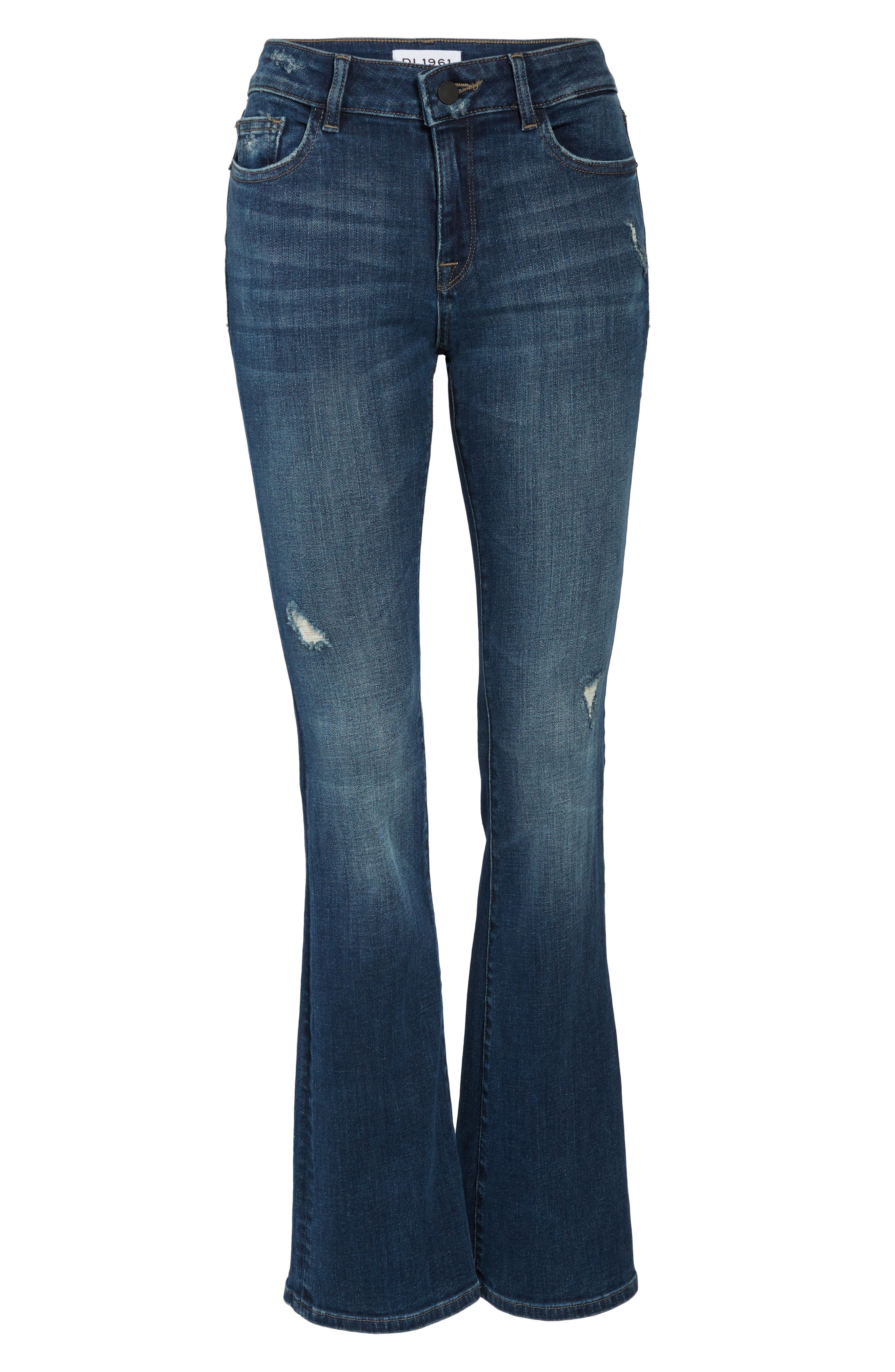 Bridget Bootcut Jeans,                             Alternate thumbnail 6, color,                             425