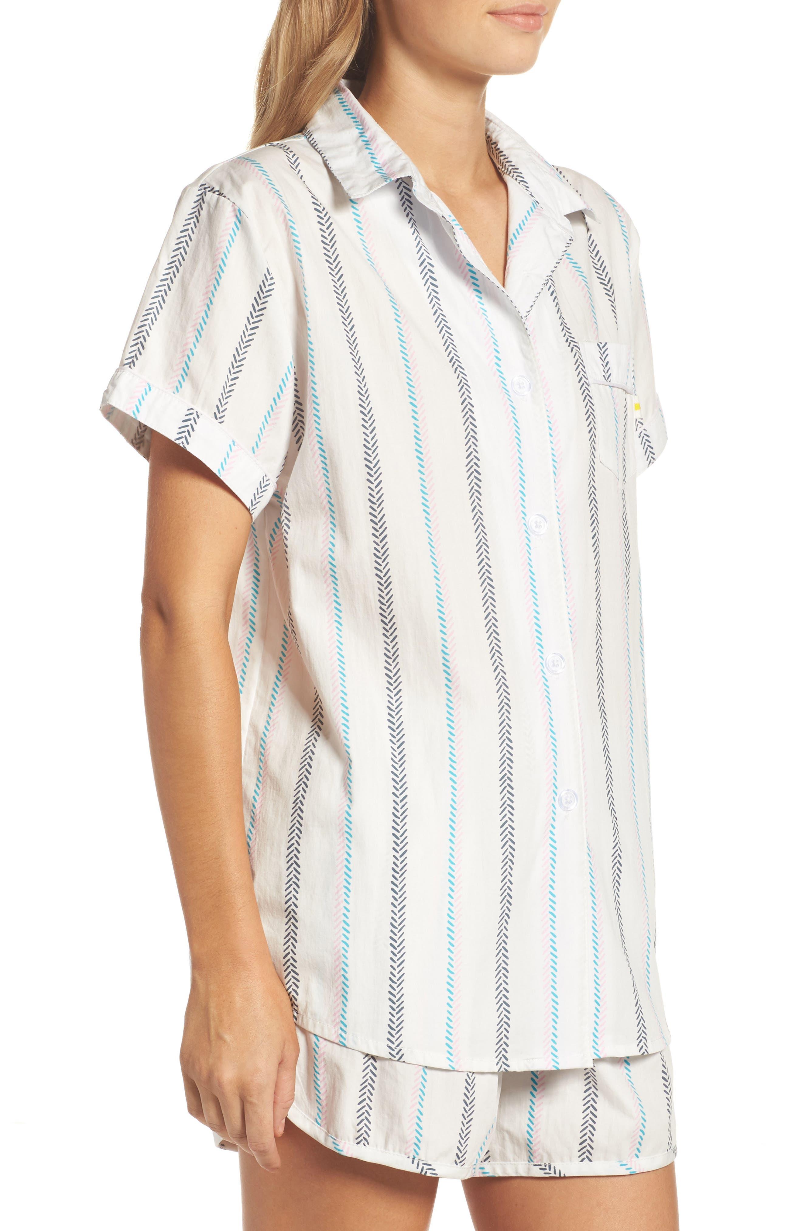 Kit Short Pajamas,                             Alternate thumbnail 3, color,