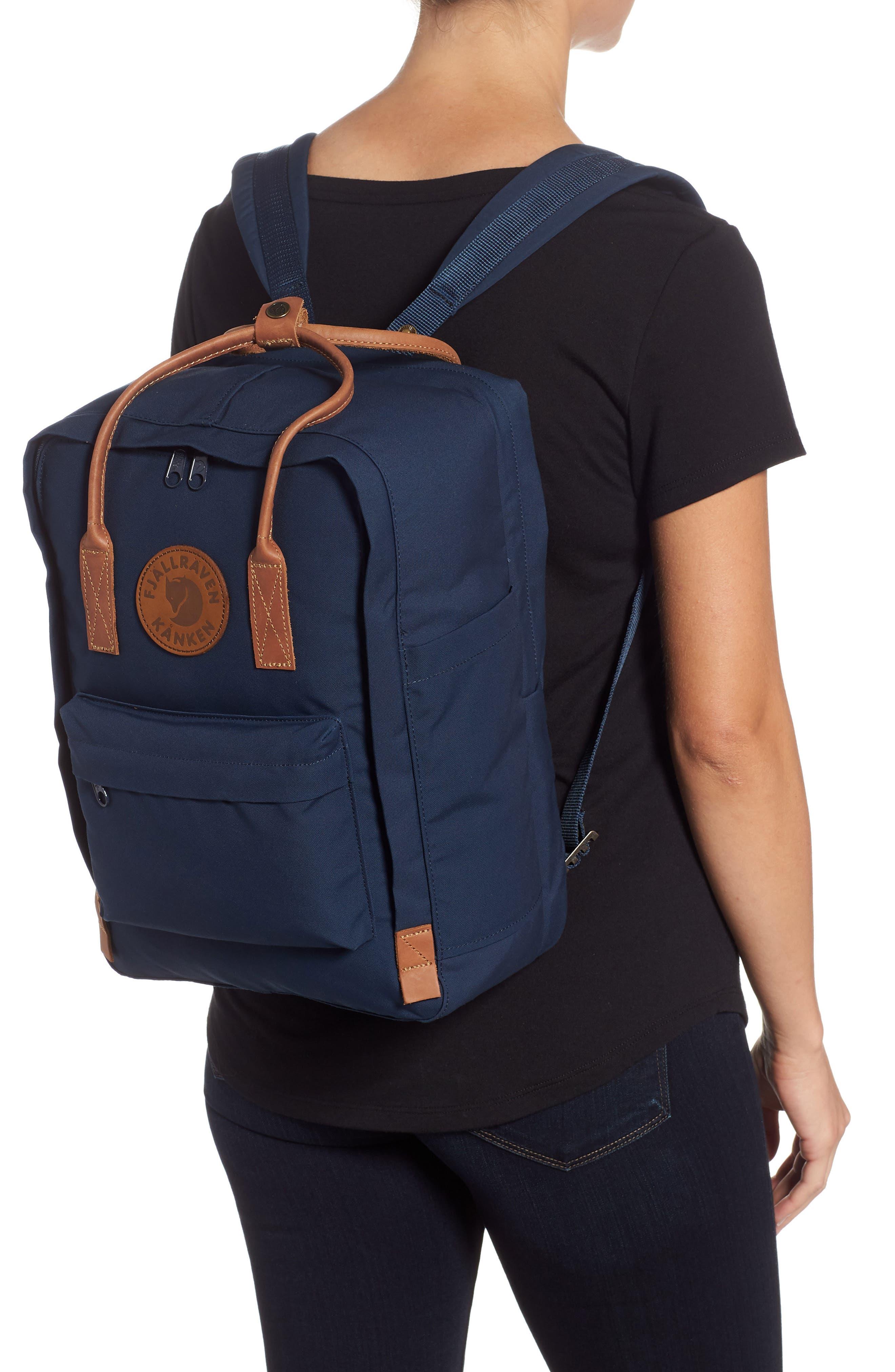 """Kånken No. 2 15"""" Laptop Backpack,                             Alternate thumbnail 2, color,                             NAVY"""