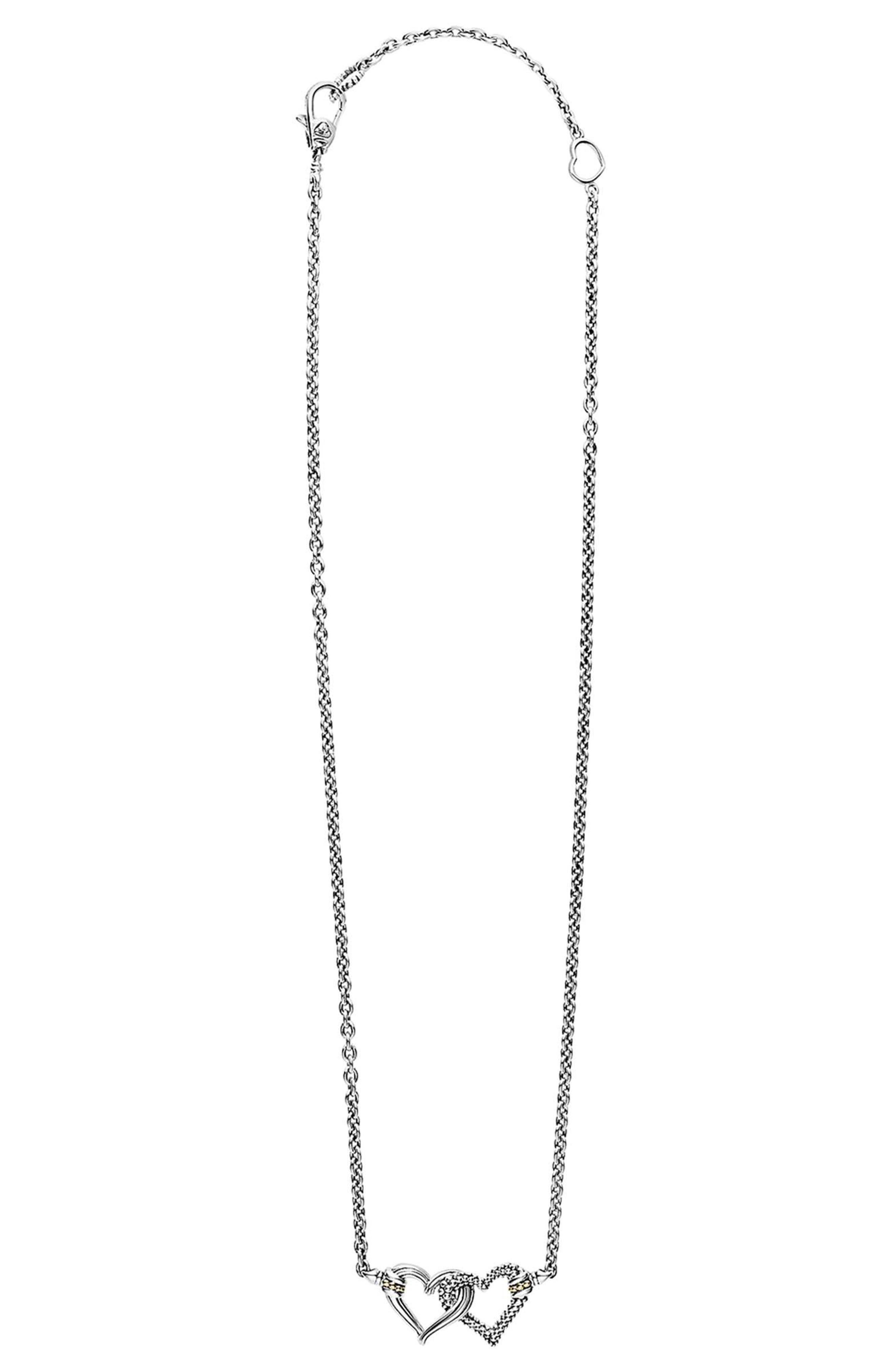 Beloved Small Station Necklace,                             Alternate thumbnail 3, color,                             040