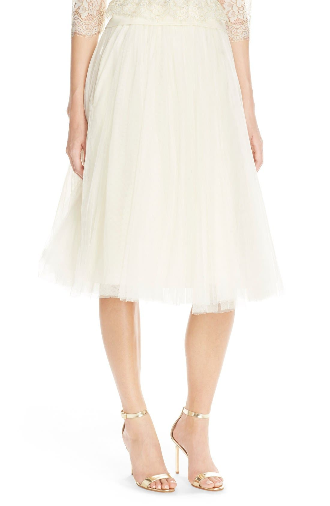 Lucy Tulle Skirt,                             Main thumbnail 4, color,