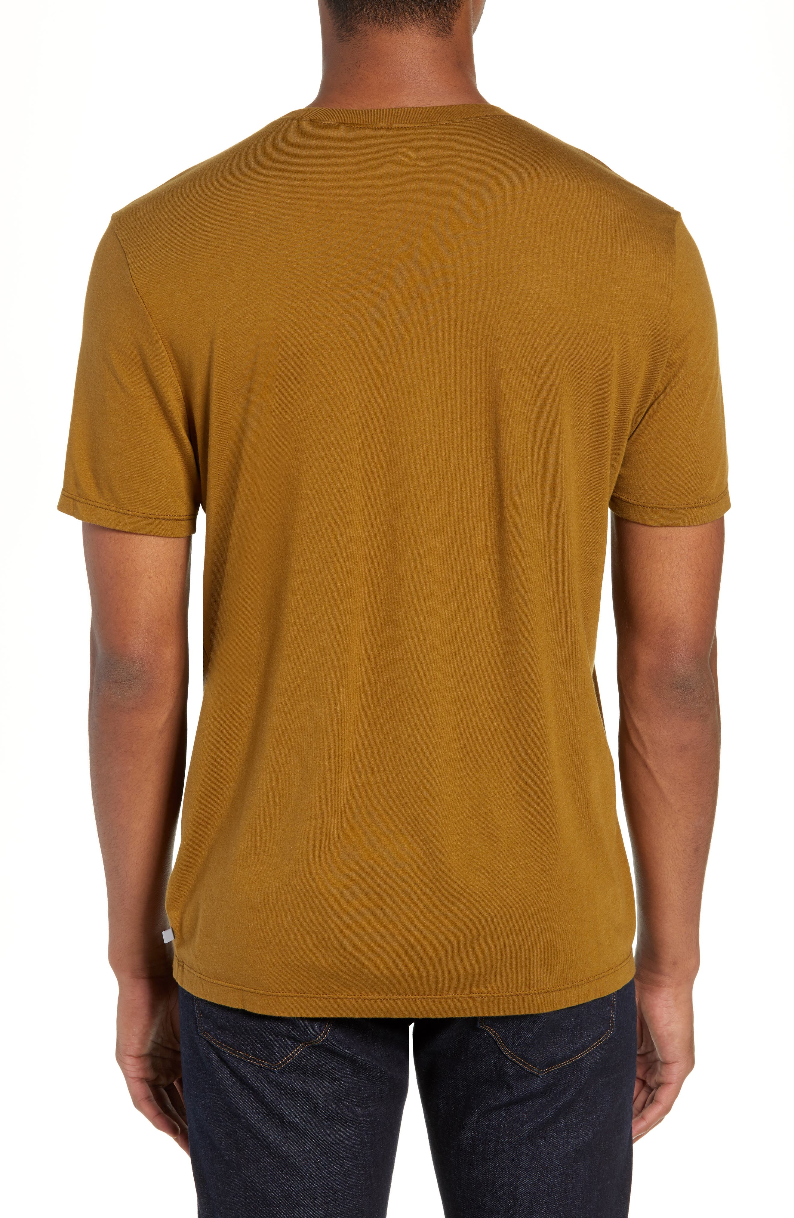 Bryce Slim Fit T-Shirt,                             Alternate thumbnail 2, color,                             GOLDEN OLIVE