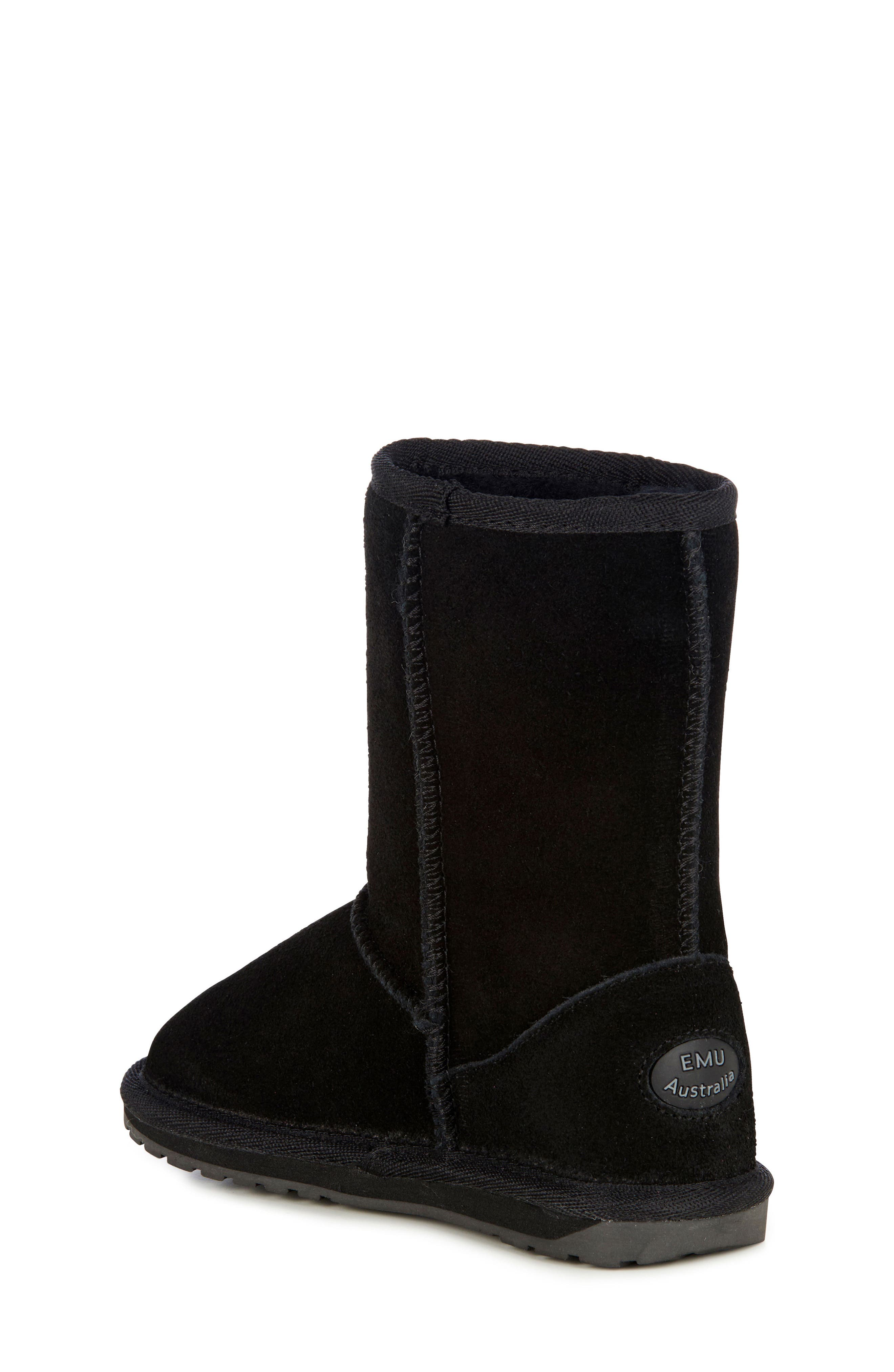 Wallaby Lo Boot,                             Alternate thumbnail 2, color,                             BLACK