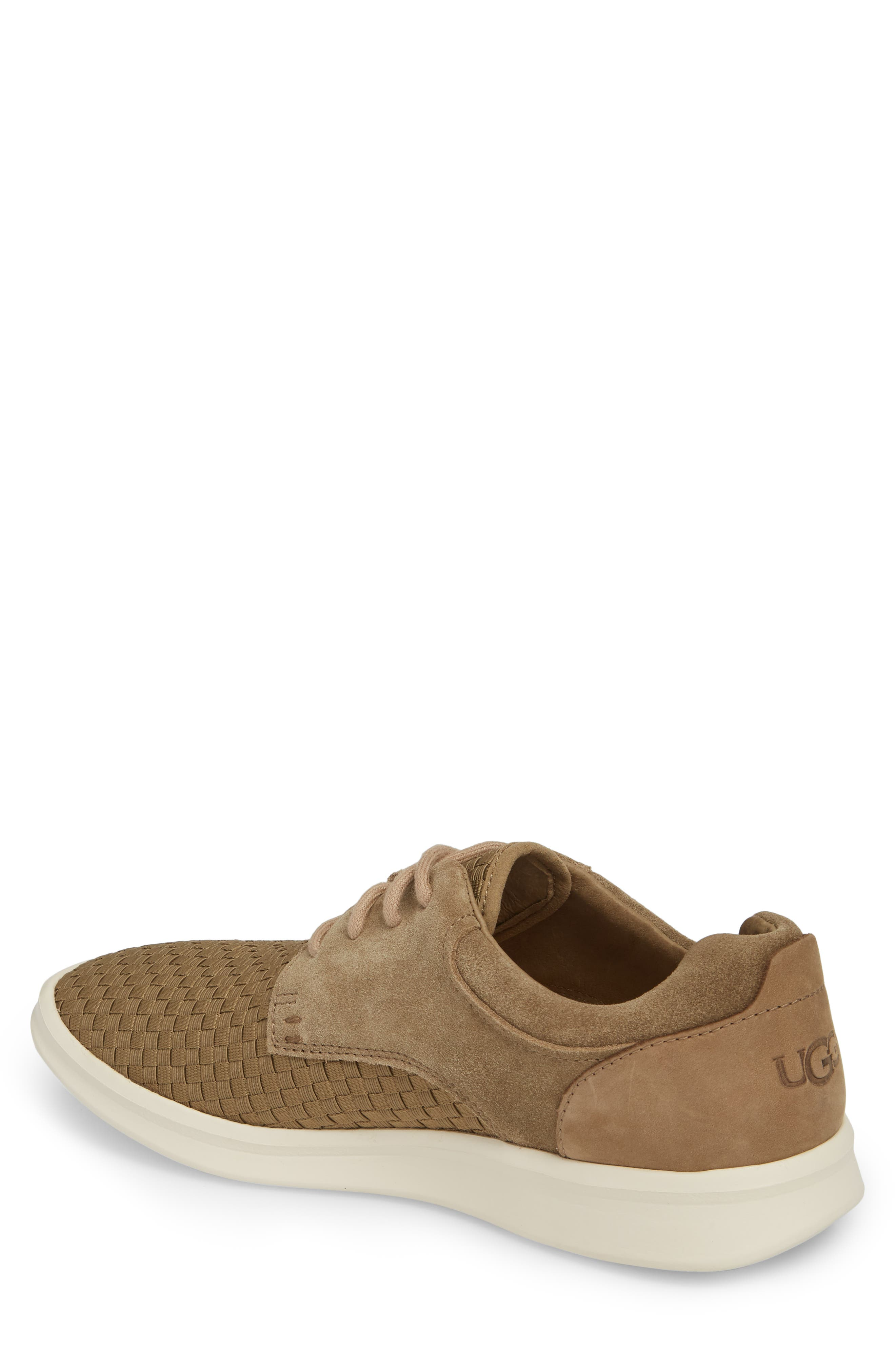 UGG<SUP>®</SUP>,                             'Hepner' Woven Sneaker,                             Alternate thumbnail 2, color,                             ANTILOPE LEATHER