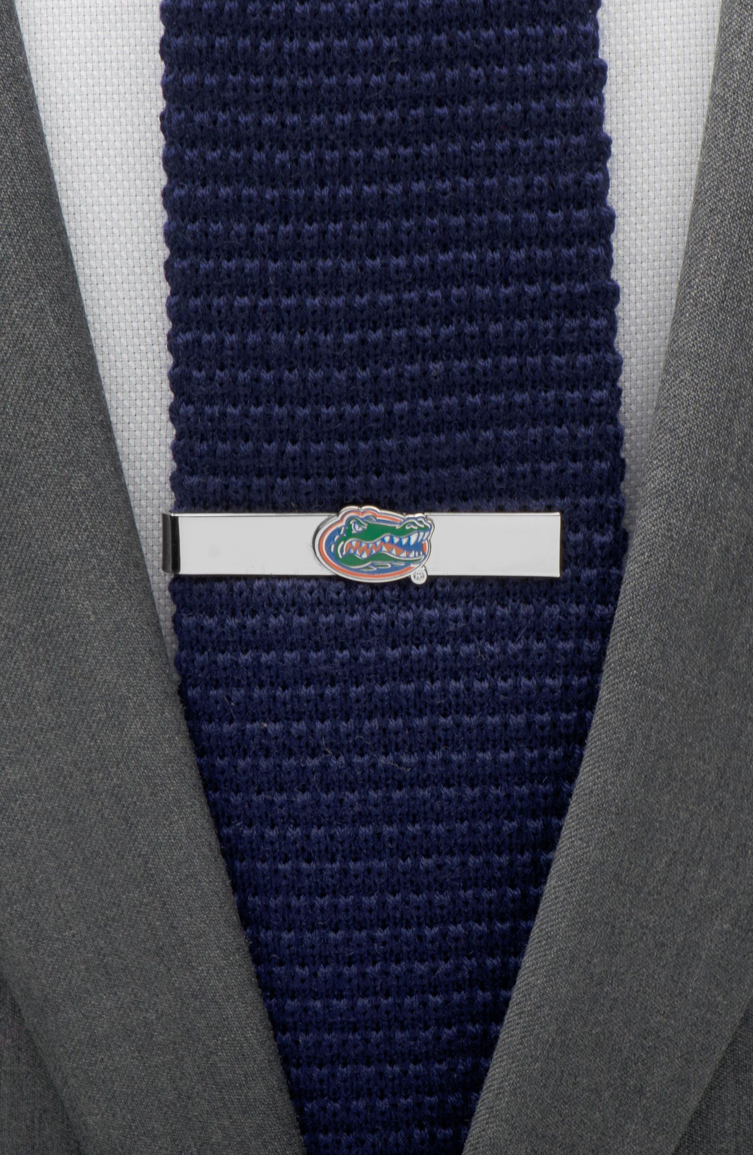 CUFFLINKS, INC.,                             University of Florida Gator Tie Bar,                             Alternate thumbnail 3, color,                             GREEN/ SILVER