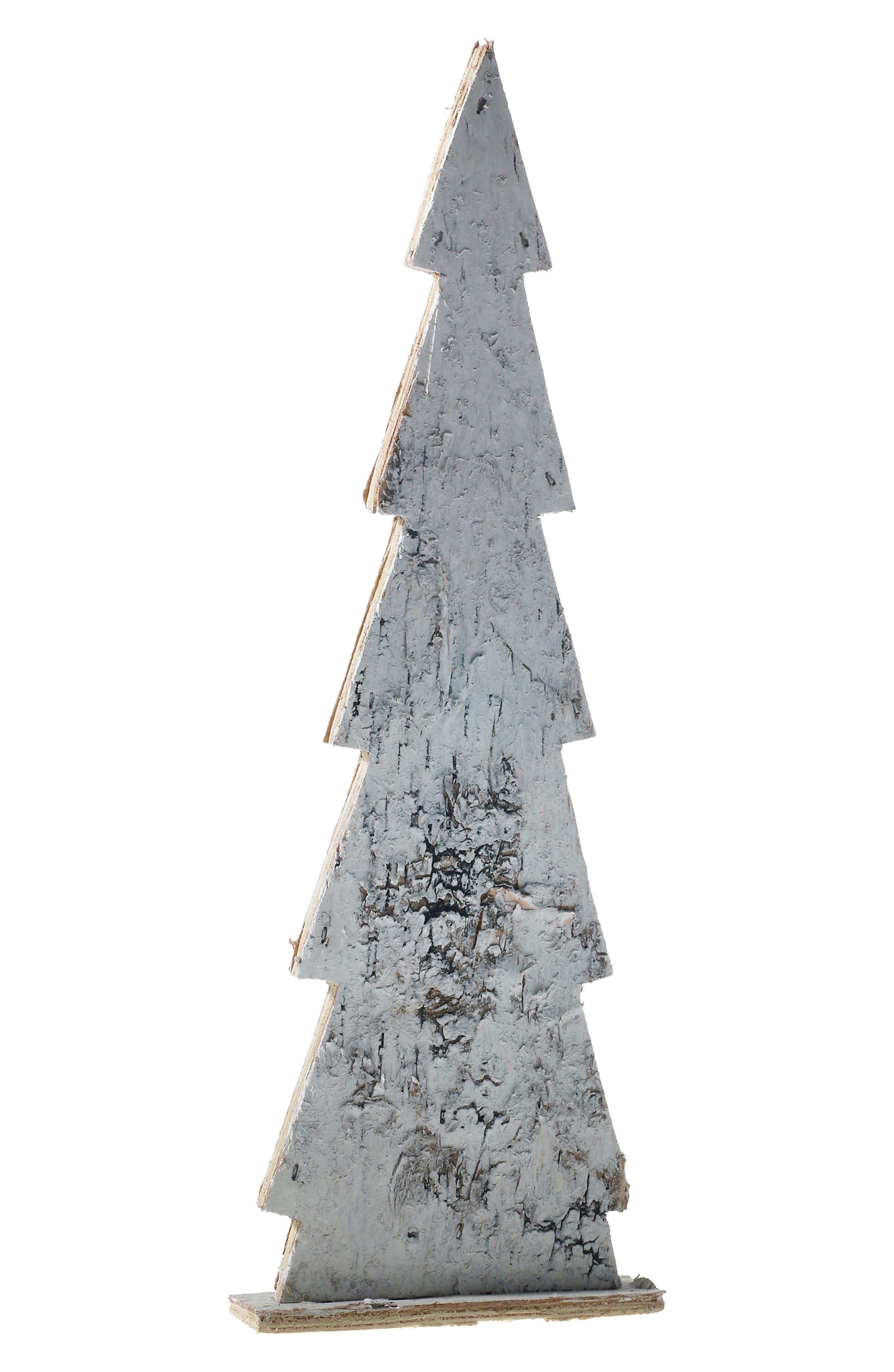 Birch Wood Tree,                         Main,                         color, WHITE