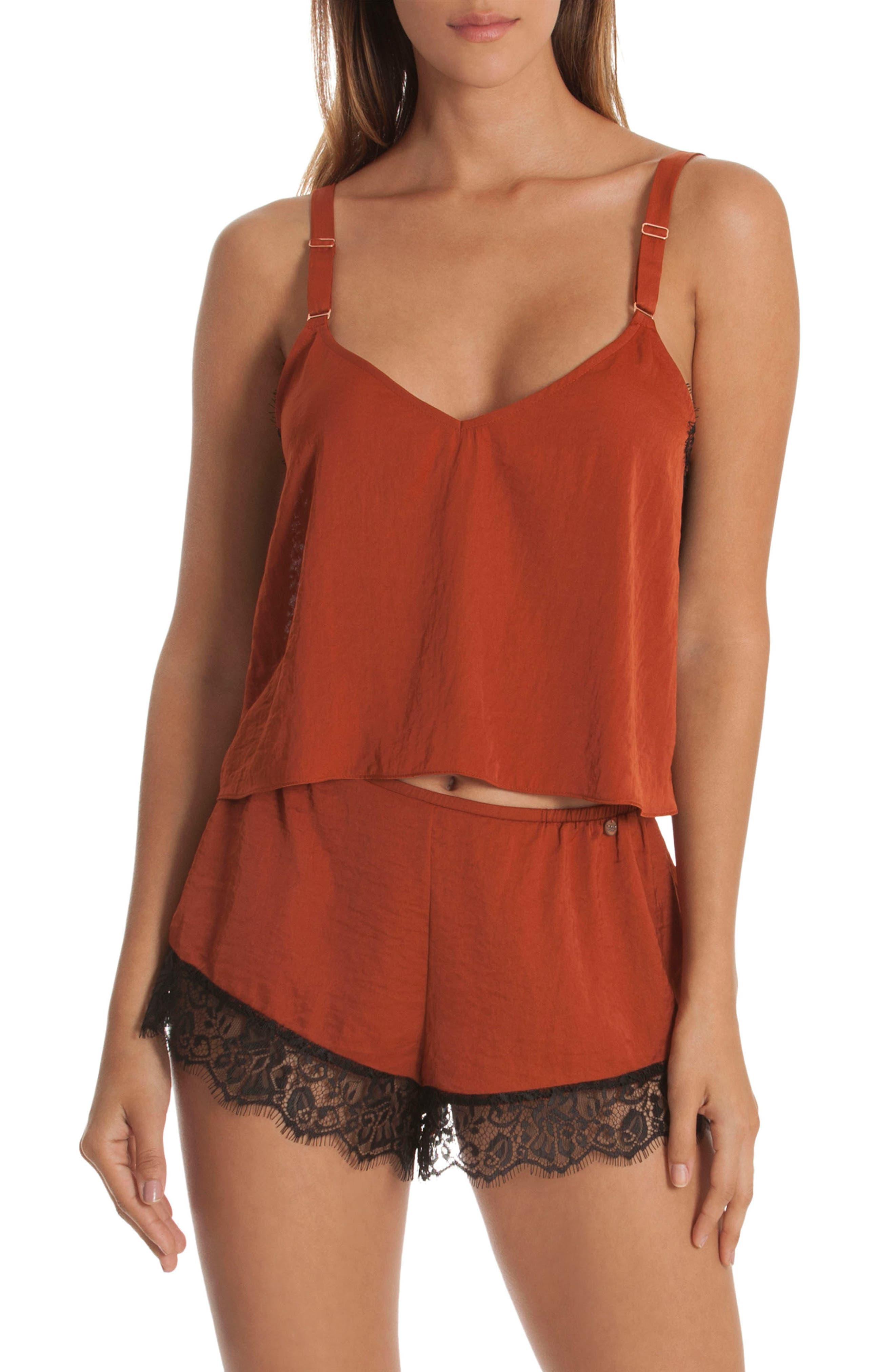 Lace Trim Short Pajamas,                             Alternate thumbnail 7, color,                             220