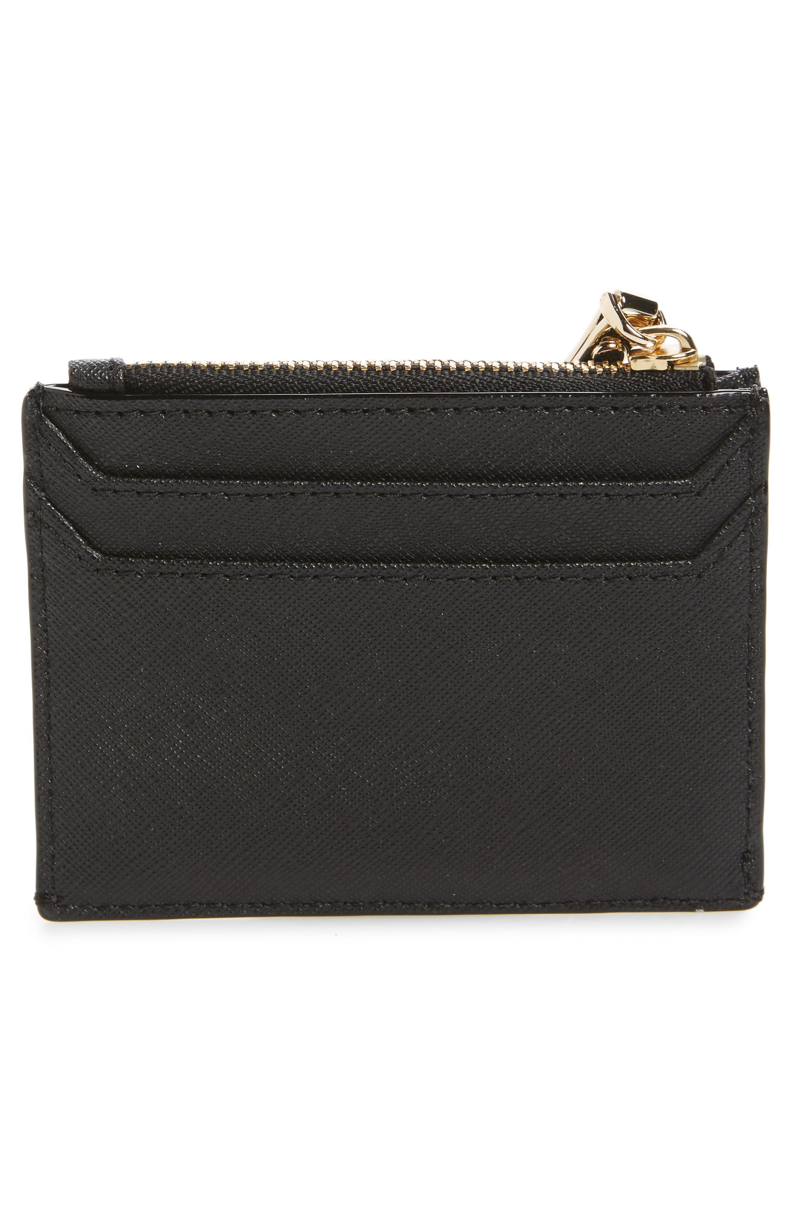 cameron street - lalena leather card case,                             Alternate thumbnail 2, color,                             001