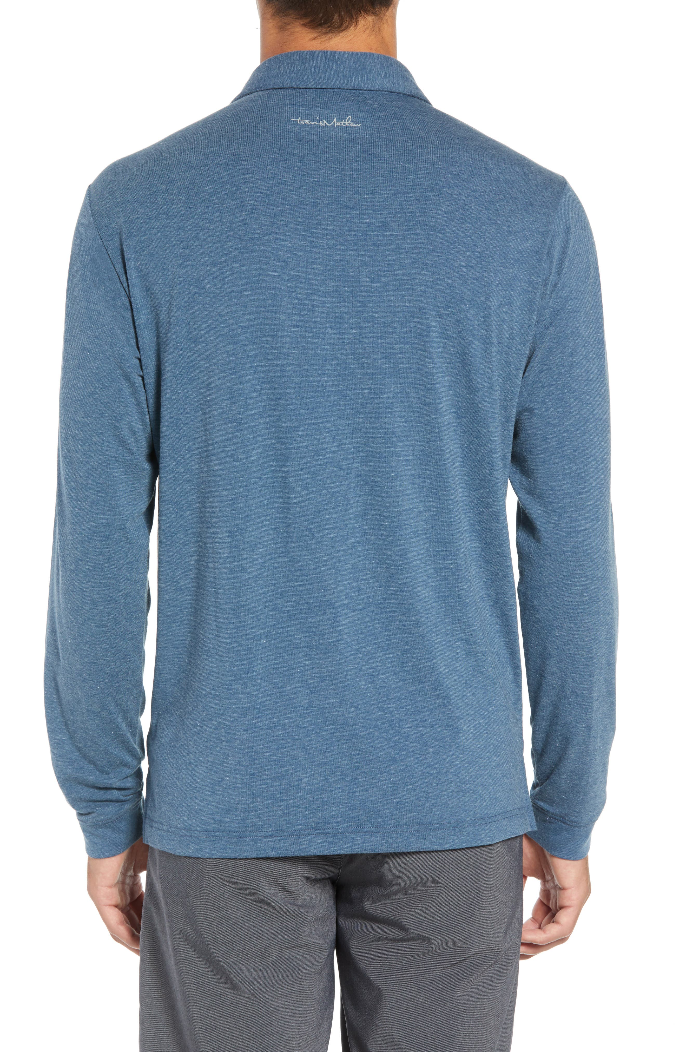 Backup Plan Regular Fit Polo,                             Alternate thumbnail 2, color,                             TRADEWINDS/ BLUE WING TEAL