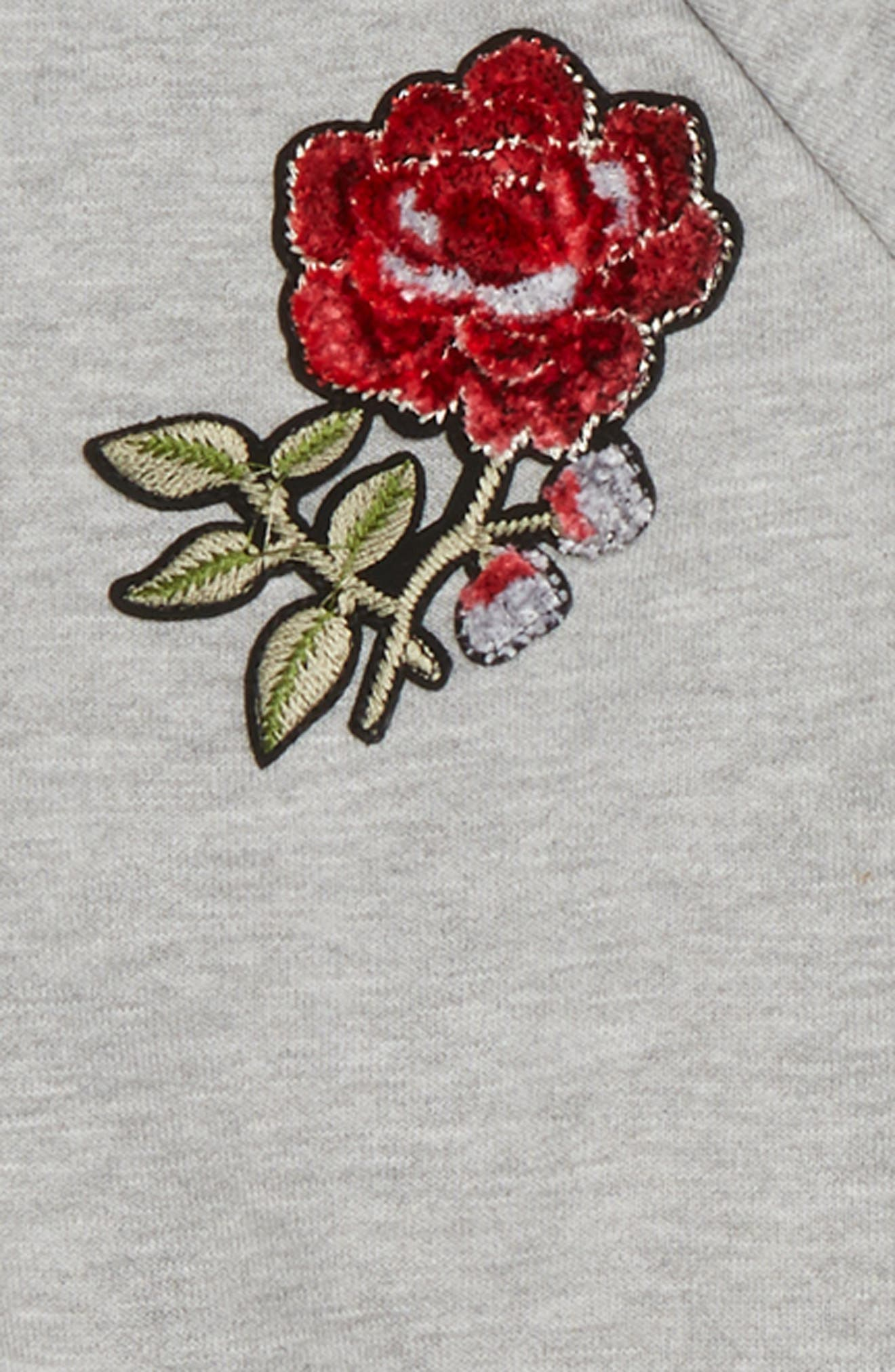 Rose Sweatshirt & Dress Set,                             Alternate thumbnail 2, color,                             020
